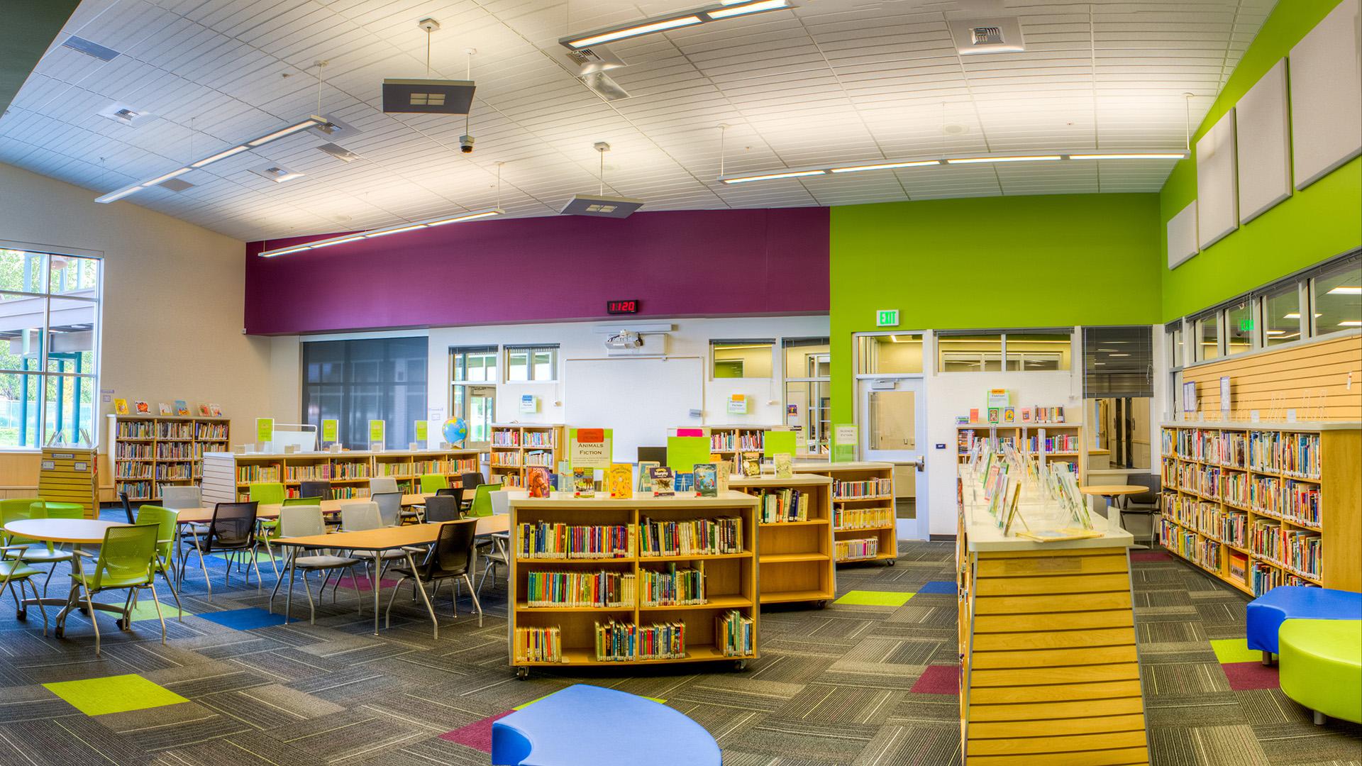 Davis Elementary Library