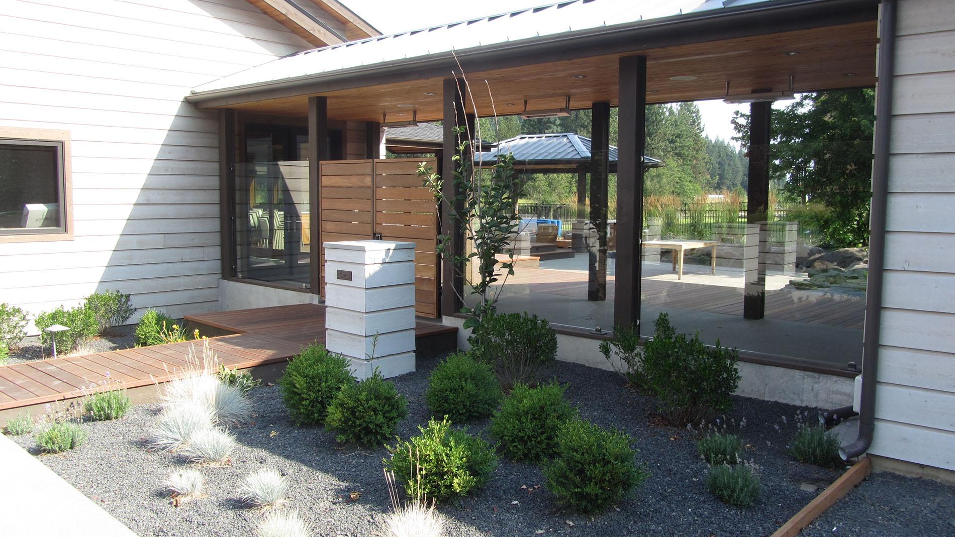 Coeur d'Alene Residence Landscaping
