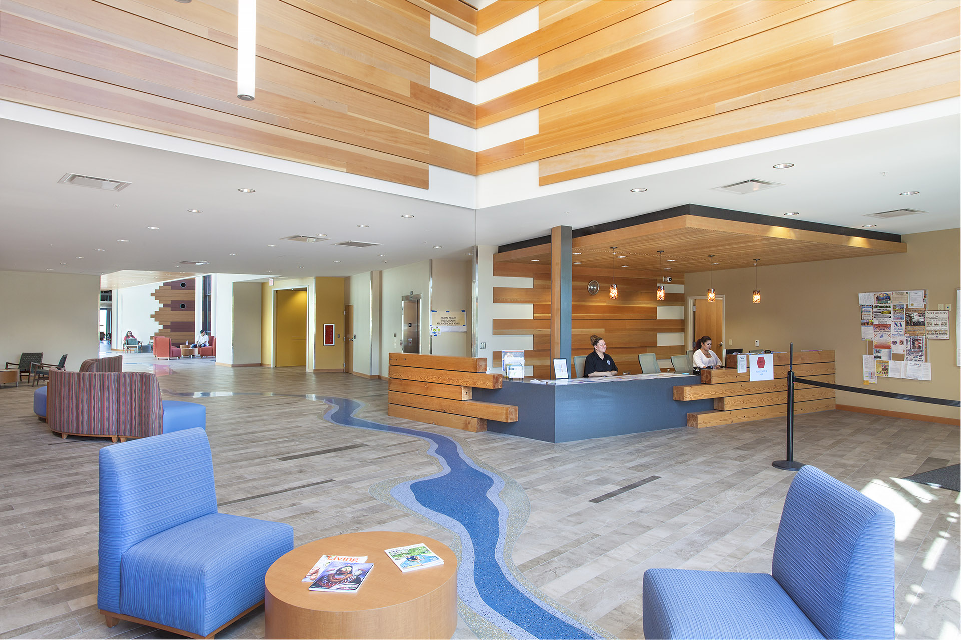 Colville Tribal Government Center Lobby