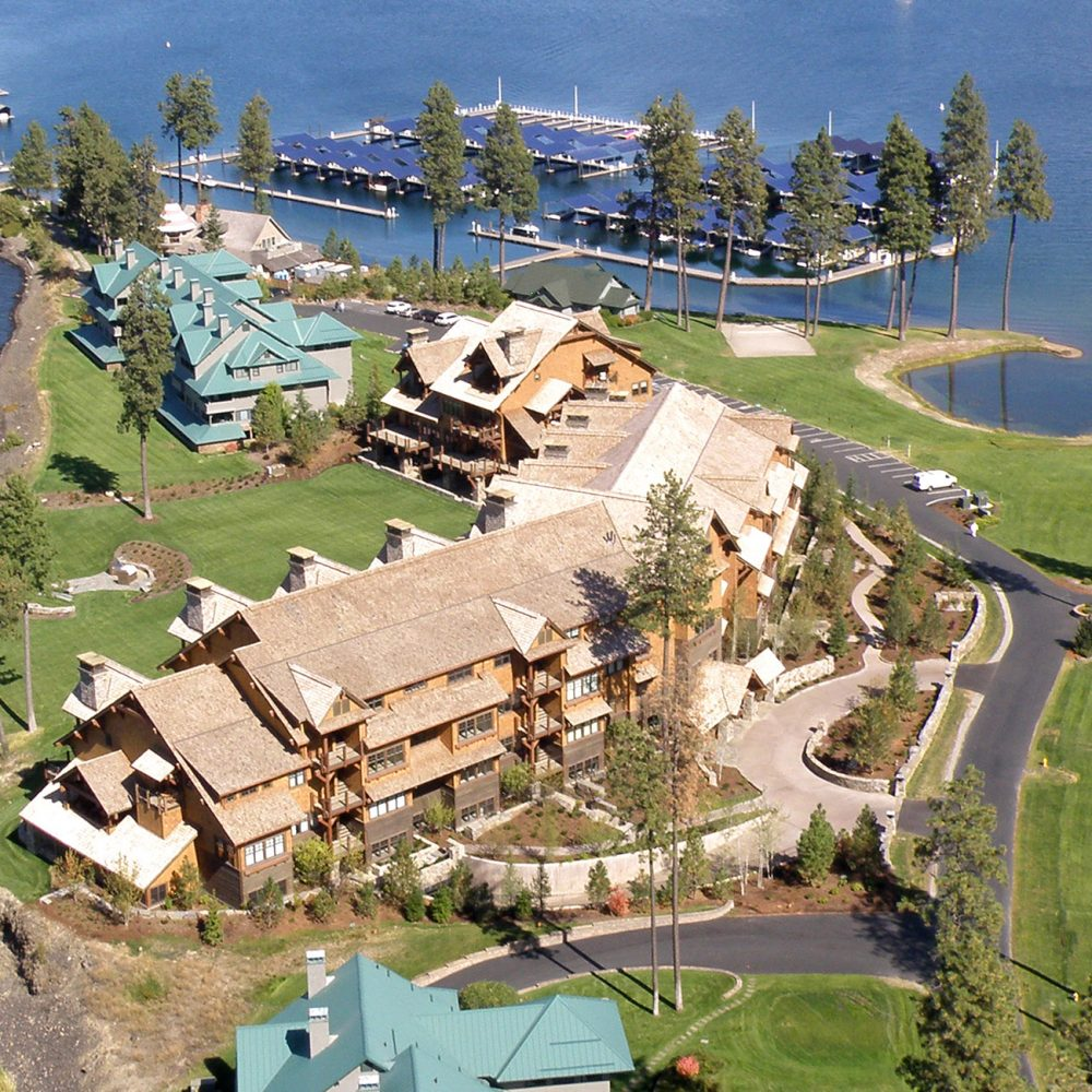 Lake Shore Lodge Aerial