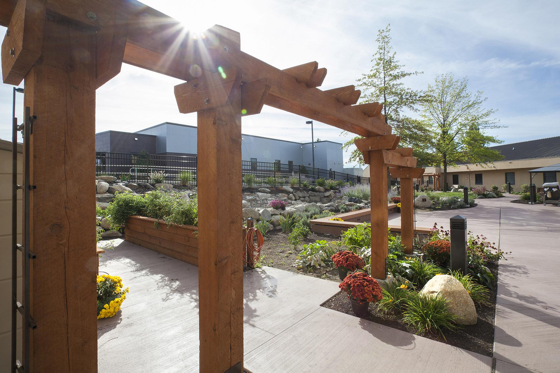 VAMC Healing Garden