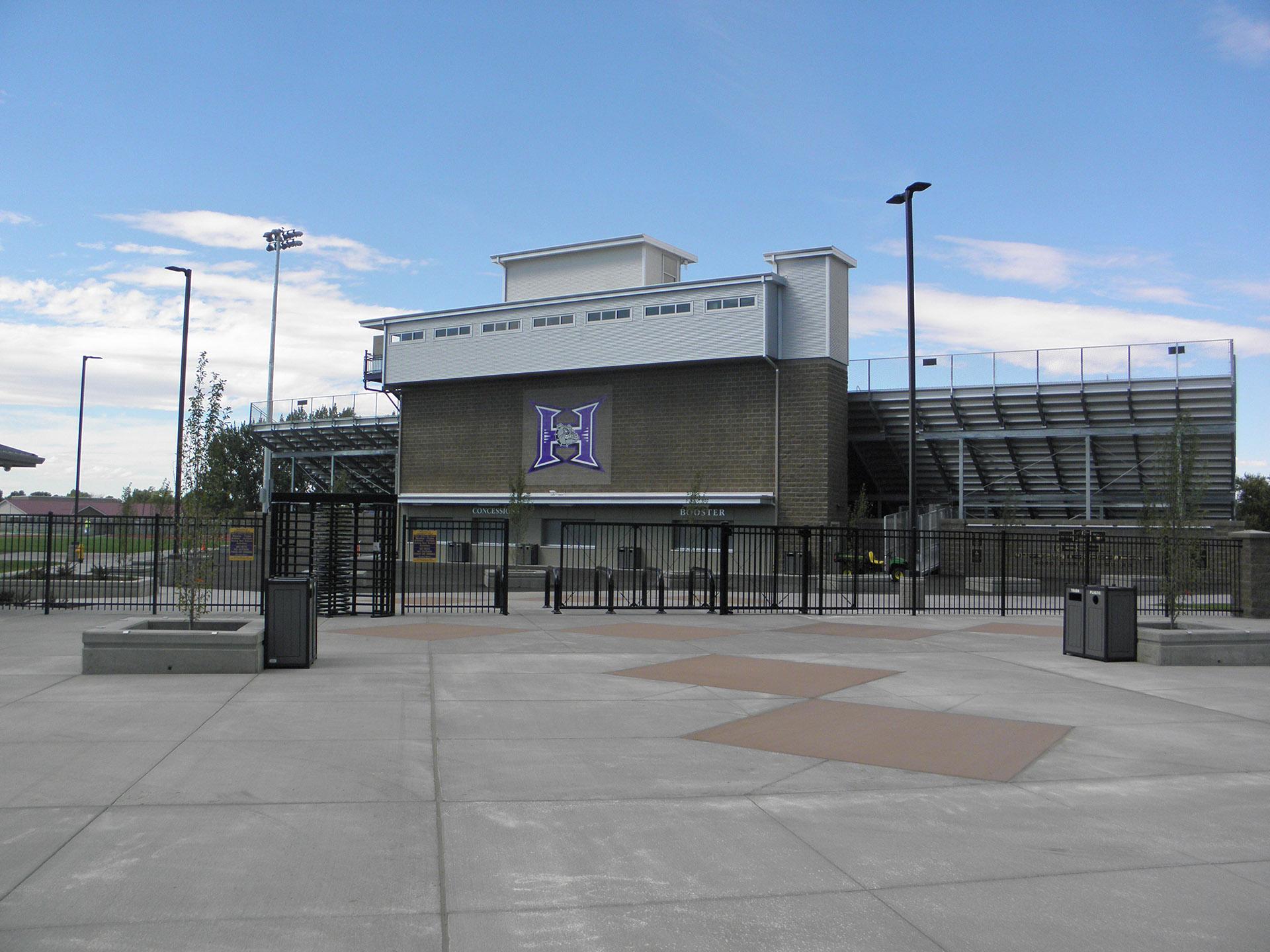 Kennison Field Entry Plaza