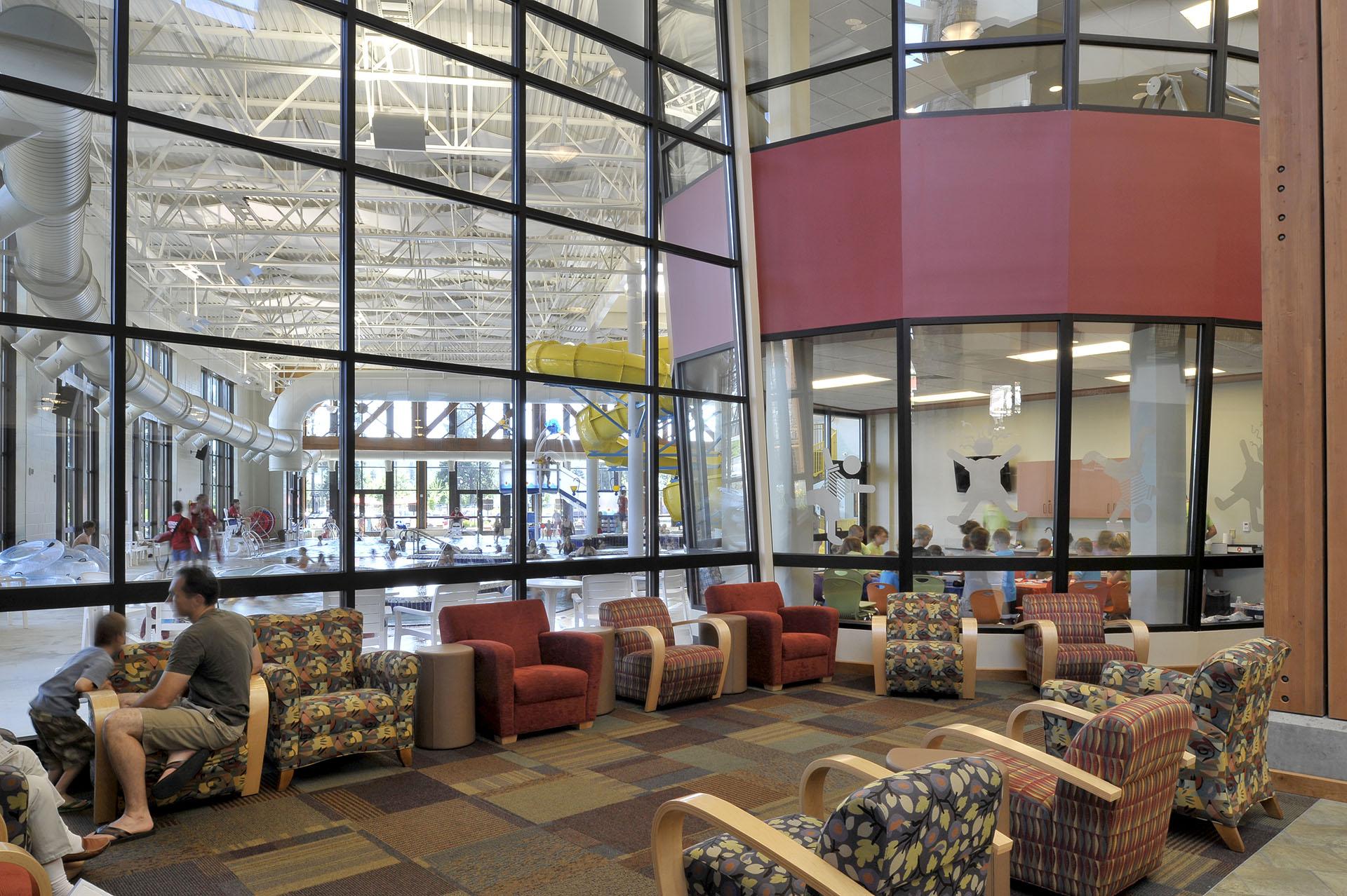 Kroc Community Center Pool Overlook