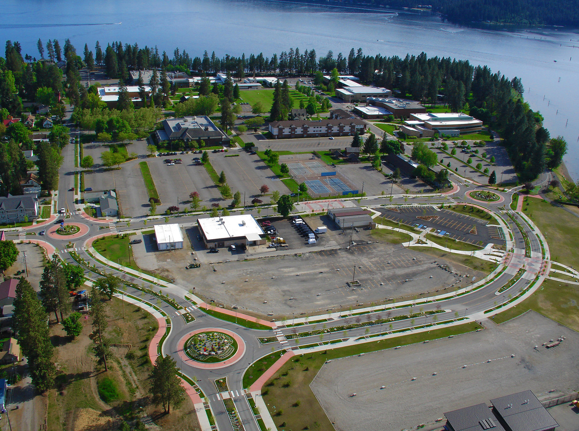 North Idaho College Education Corridor Aerial
