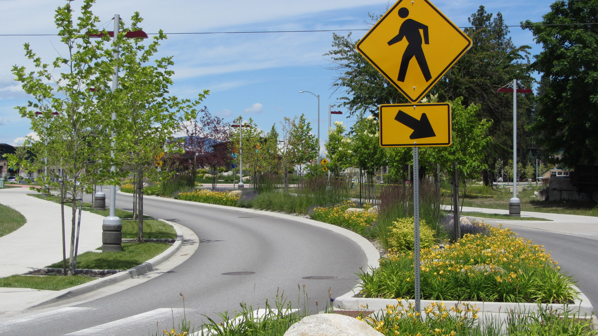 North Idaho College Education Corridor Vehicular Flow