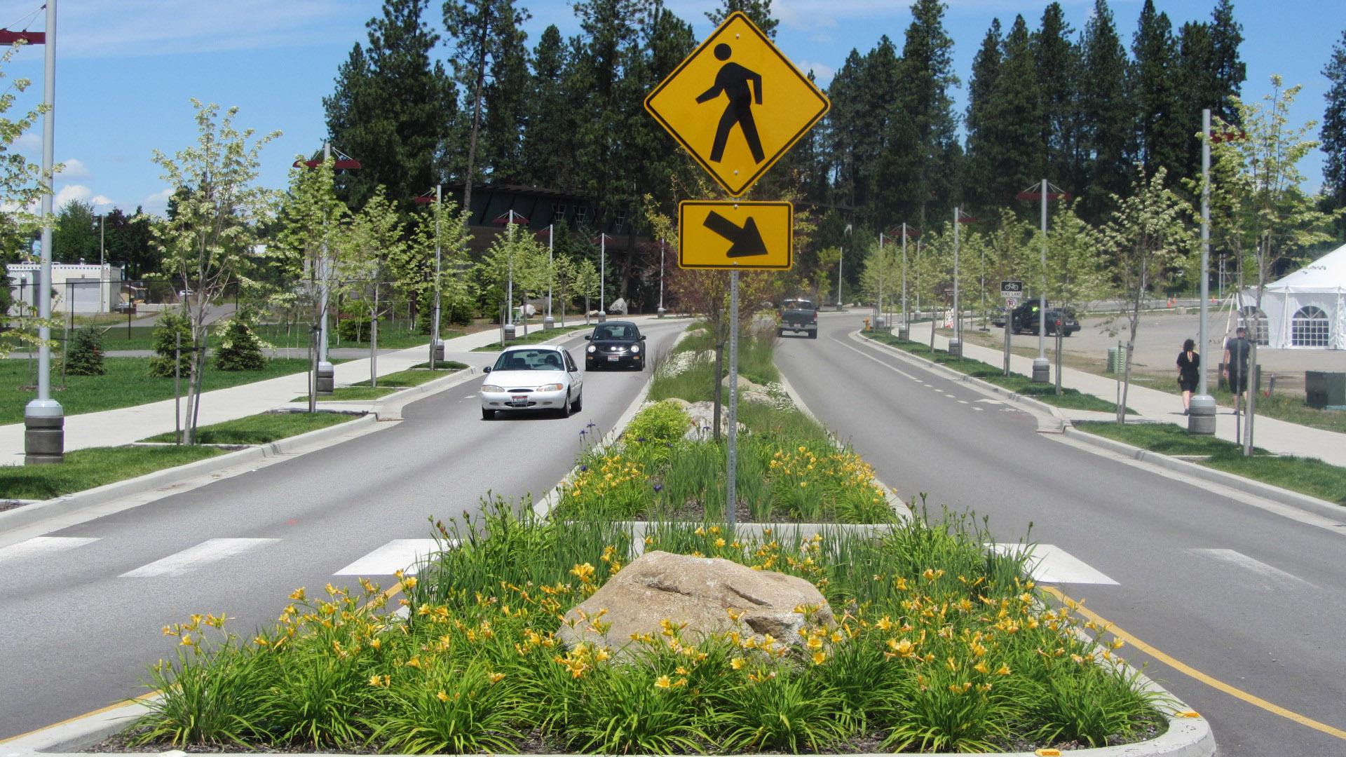 North Idaho College Education Corridor Pedestrian Flow