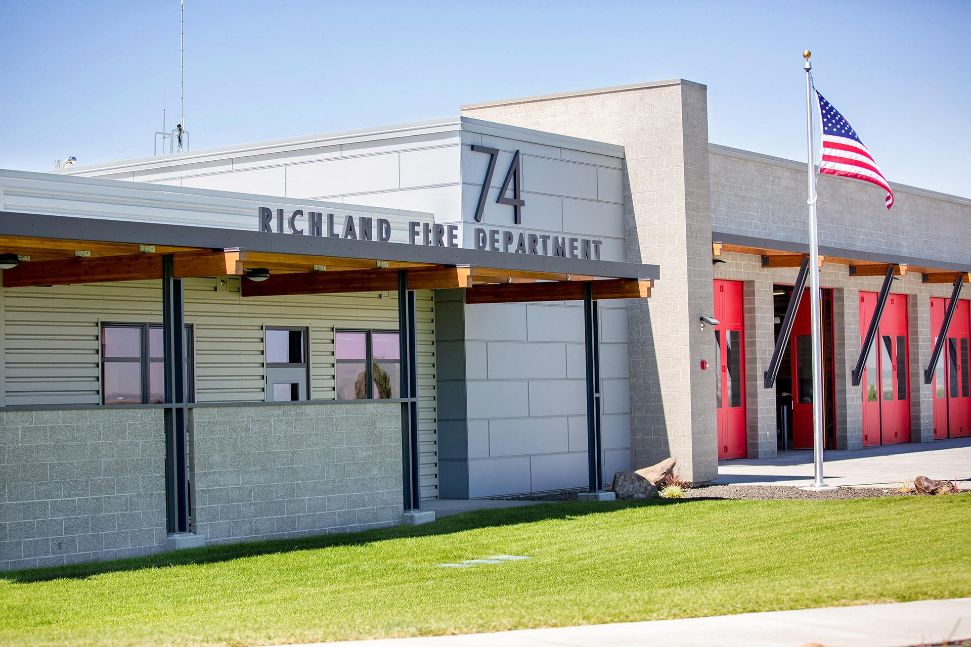 Richland Fire Department No 74 Exterior