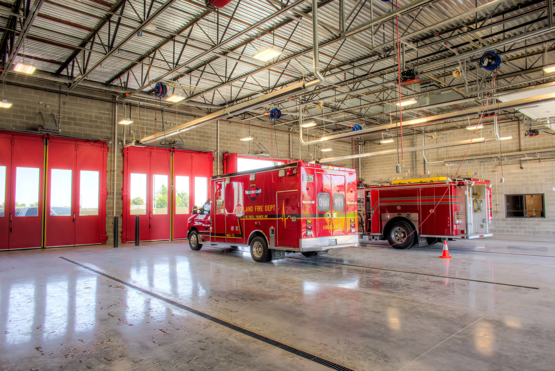 Richland Fire Department No 74 Apparatus Bays