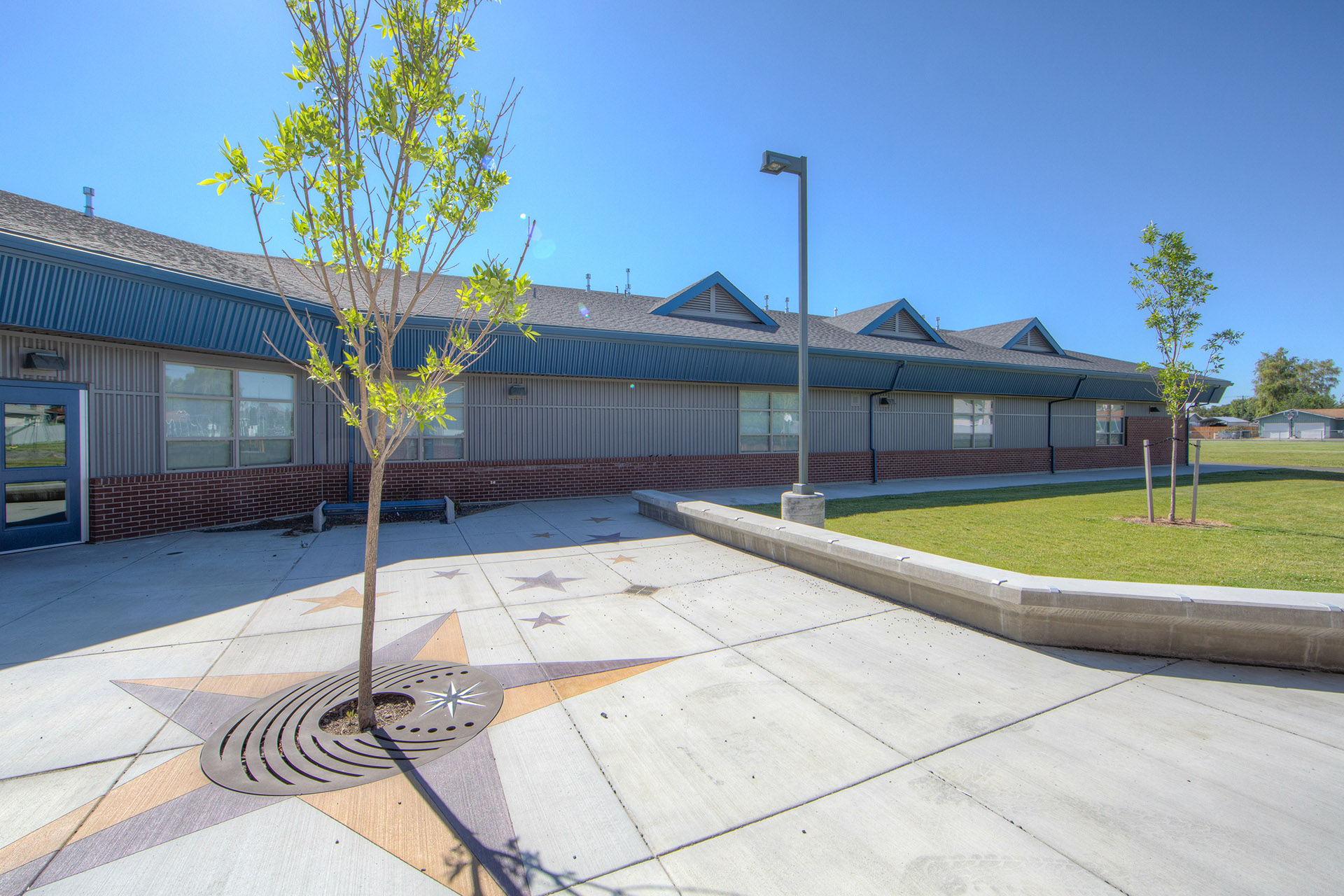 Scootney Springs Elementary Courtyard