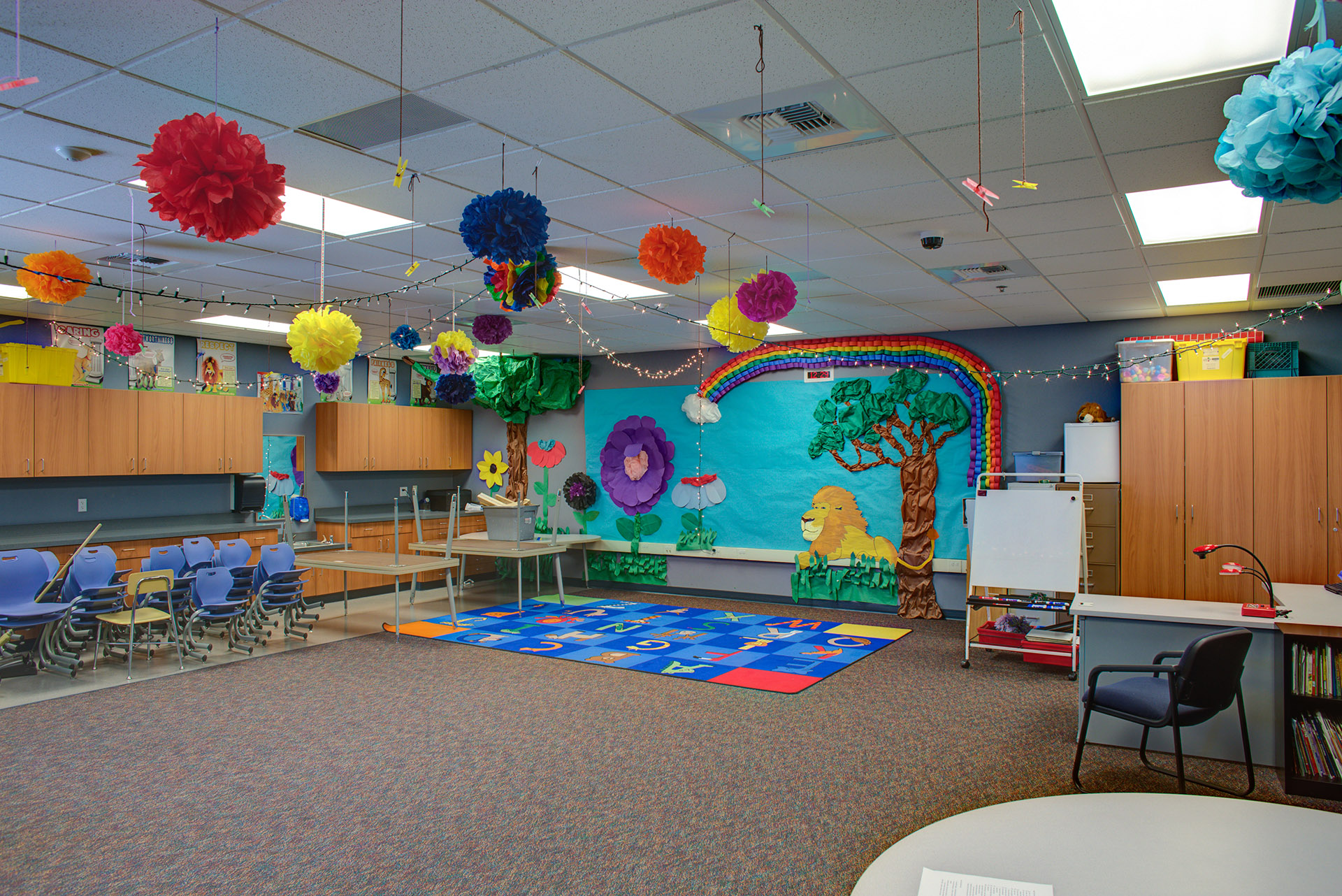 Scootney Springs Elementary Classroom
