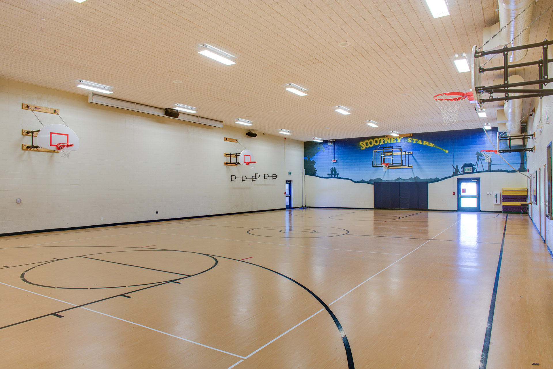 Scootney Springs Elementary Gym
