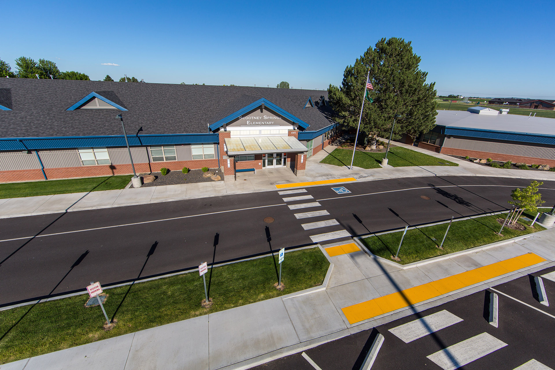 Scootney Springs Elementary Aerial
