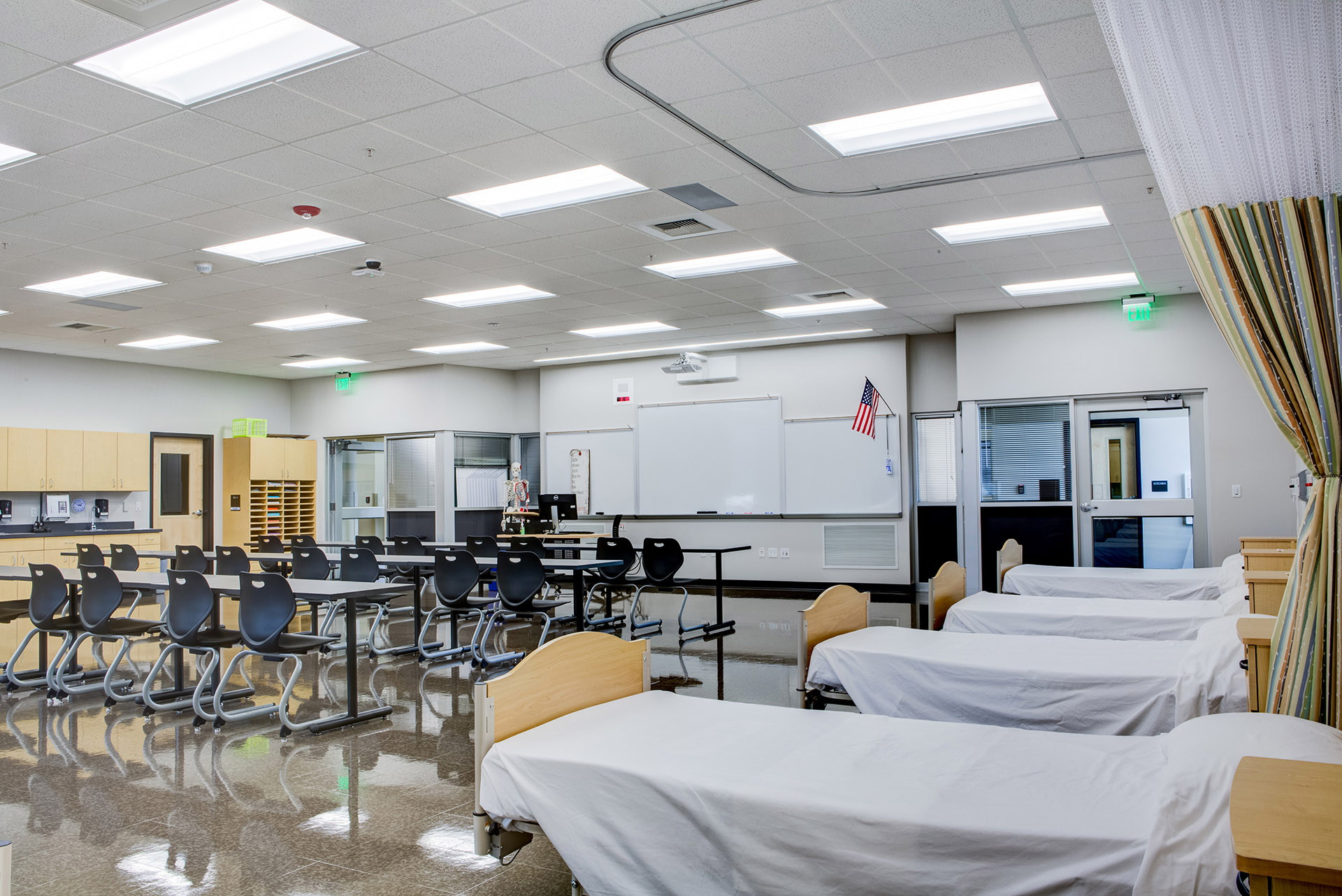 Southeast Area Technical Skills Center Health Science Classroom