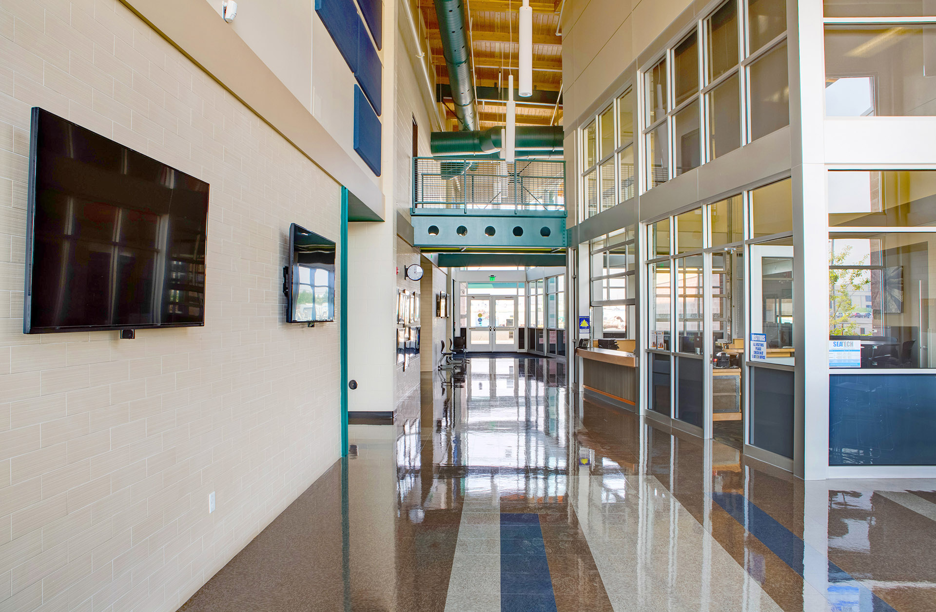Southeast Area Technical Skills Center Entry Hall