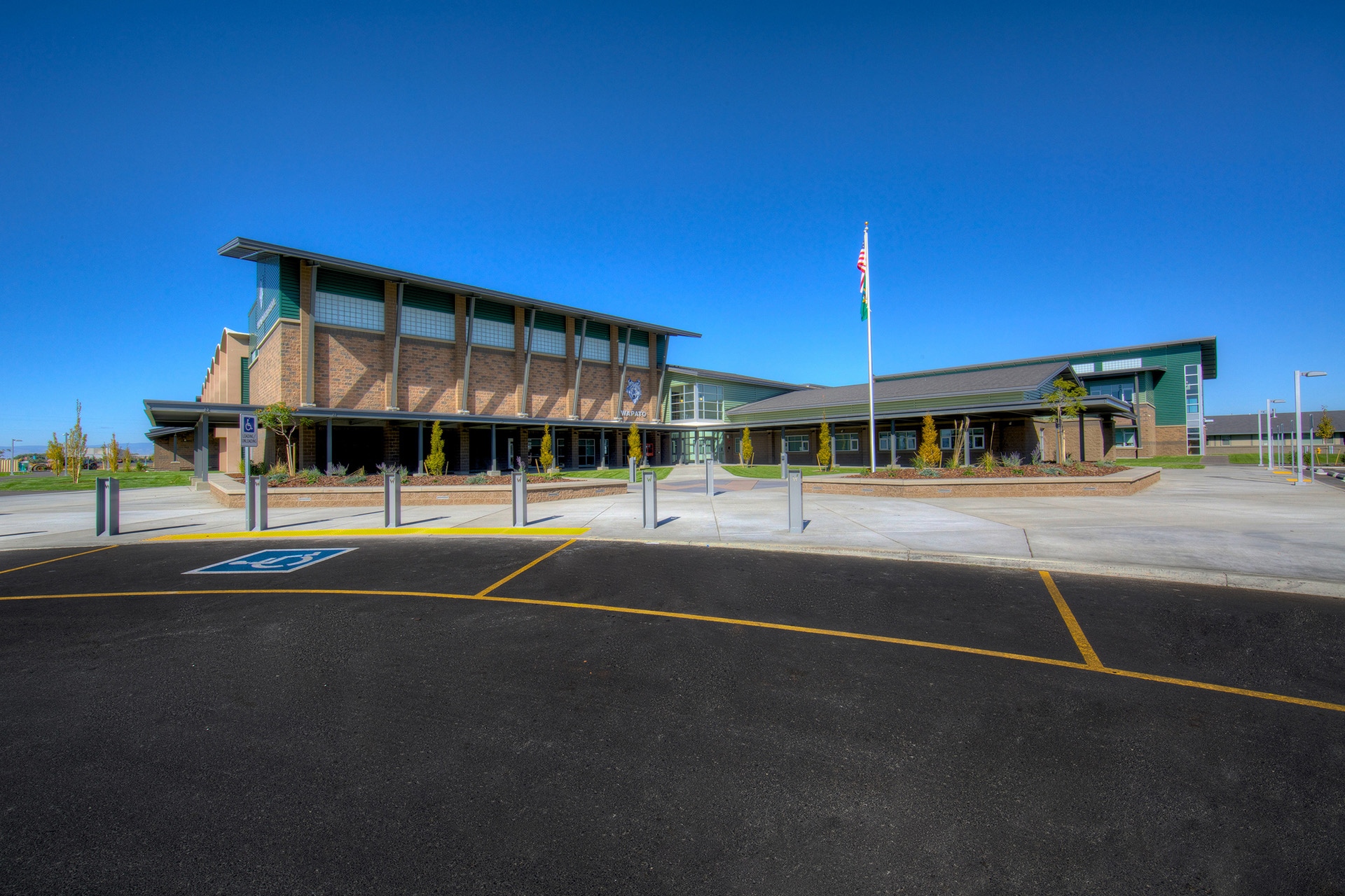 Wapato High School Entry