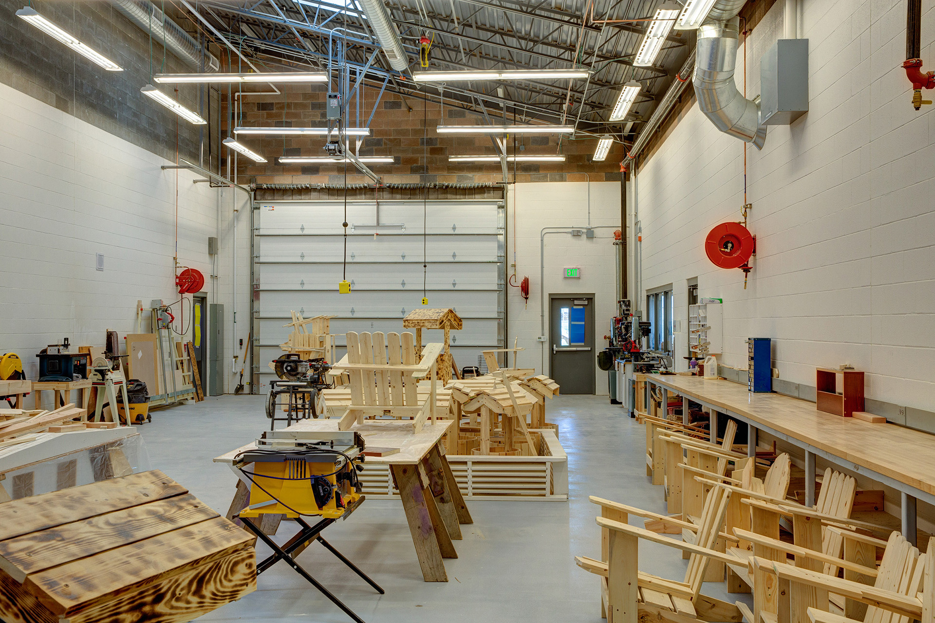 Wapato High School Wood Shop