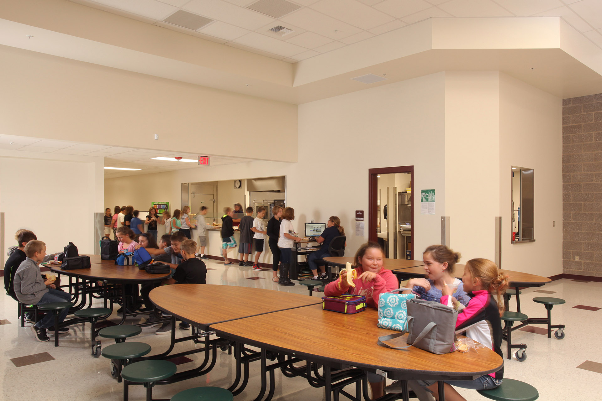 Greensferry Elementary Cafeteria
