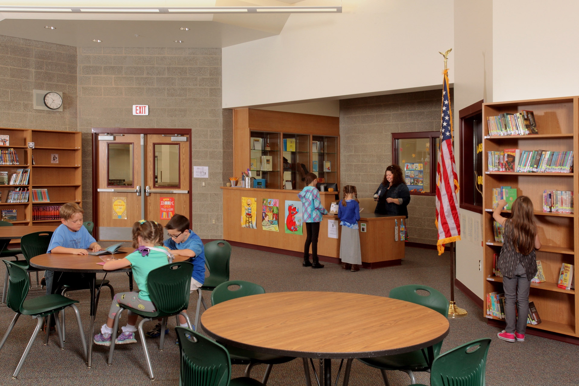 Greensferry Elementary Library