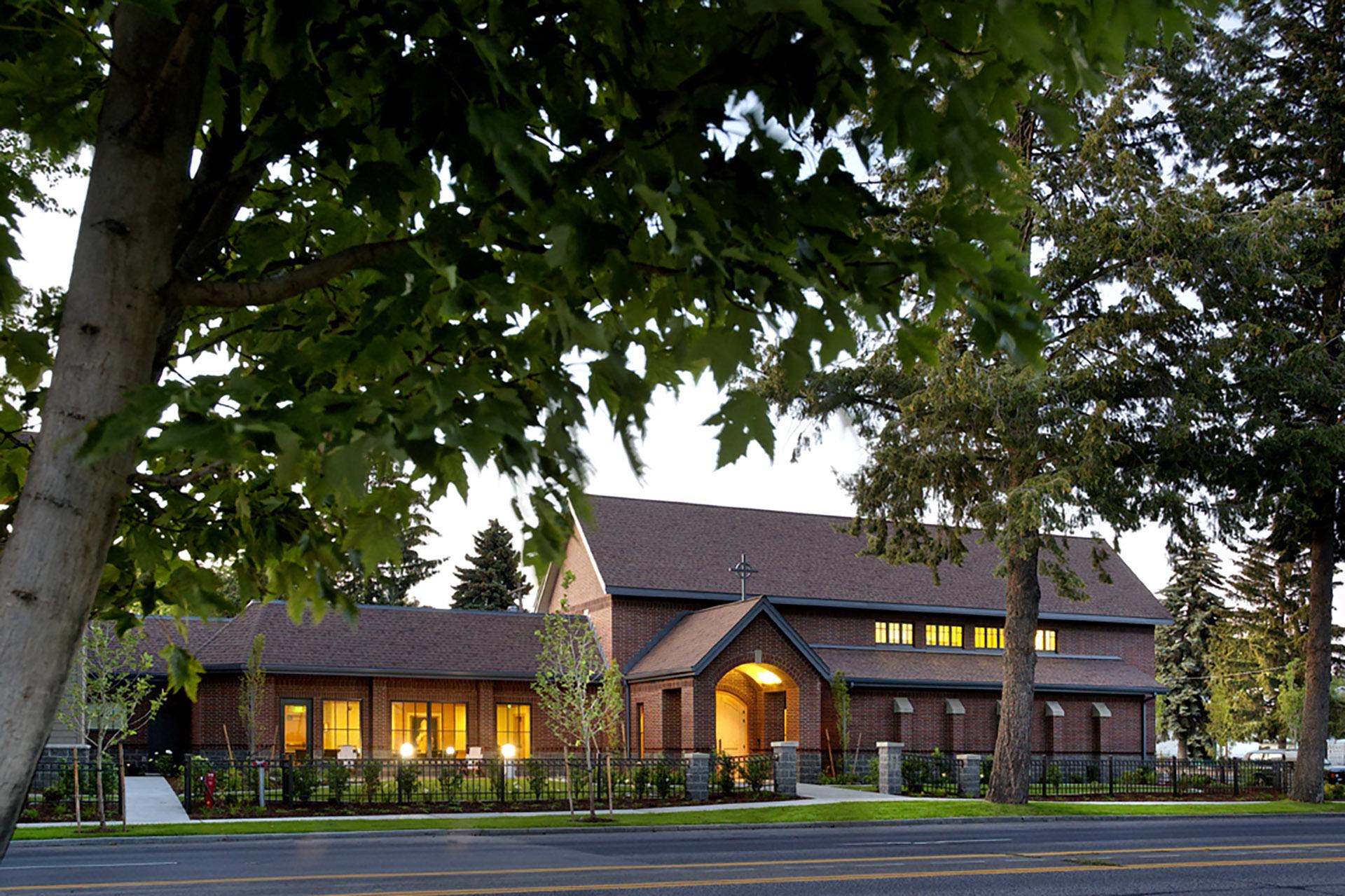 Bishop White Seminary at Gonzaga - Exterior