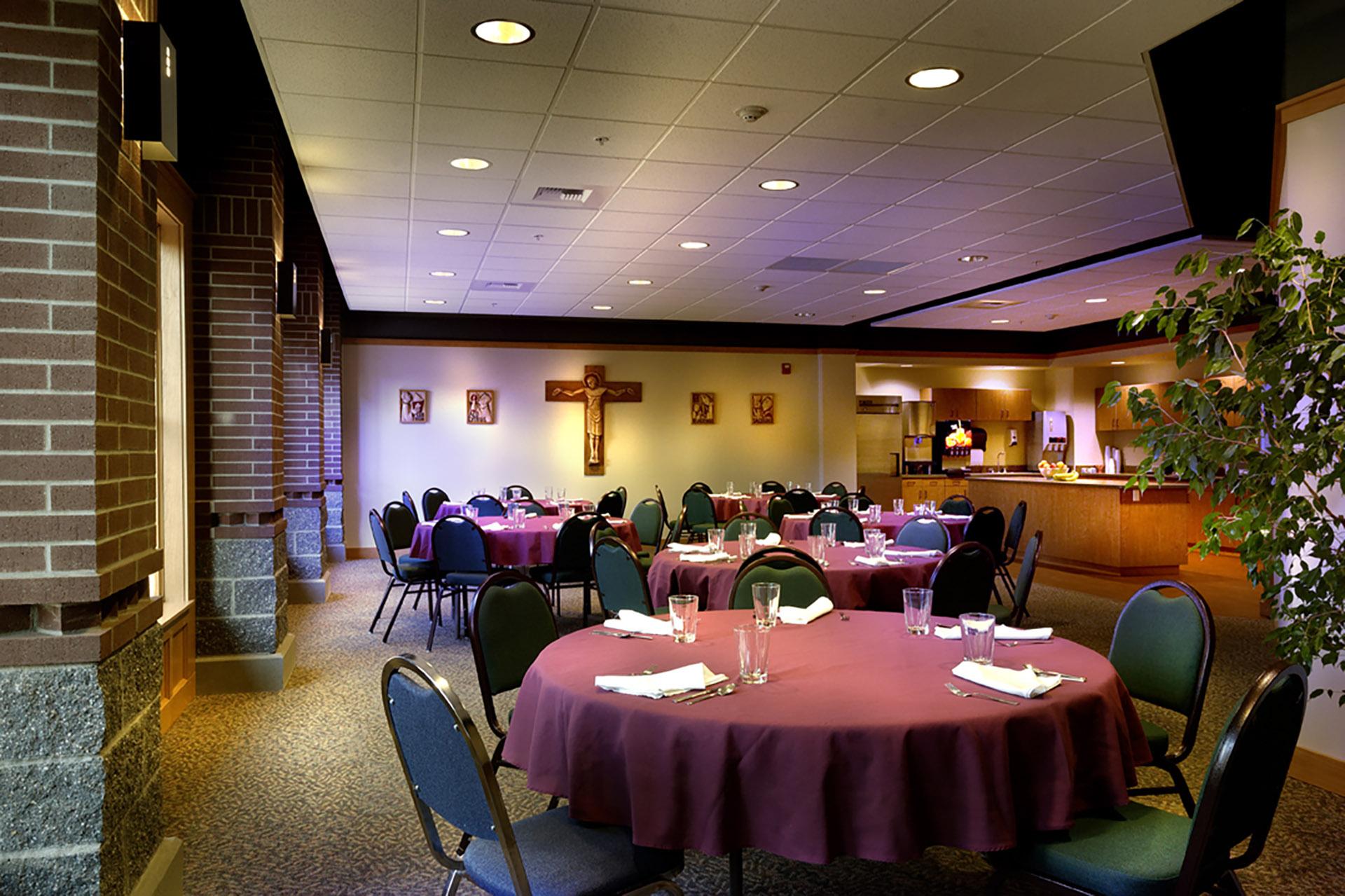 Bishop White Seminary at Gonzaga - Eating Area