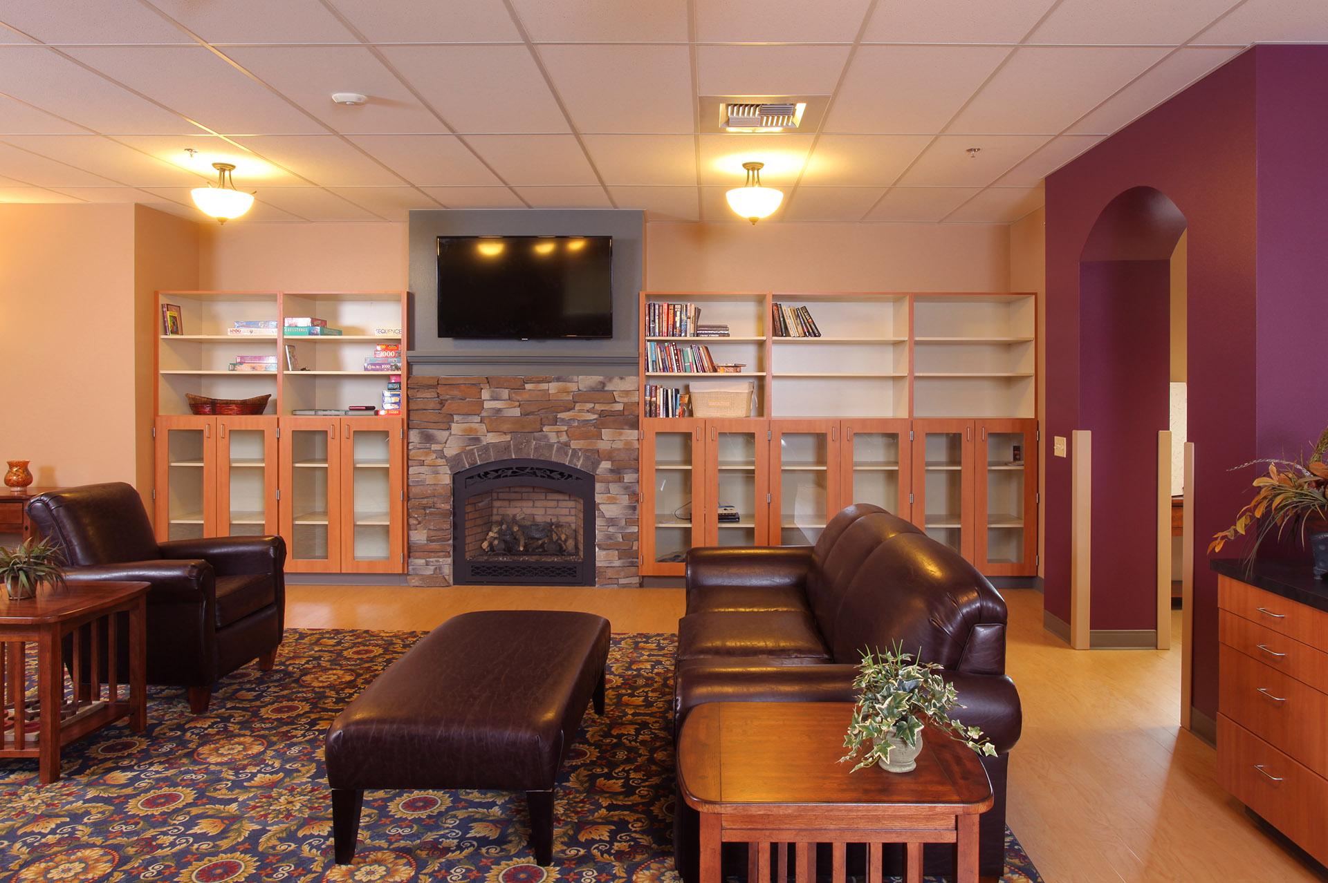 Union Gospel Mission Living Room