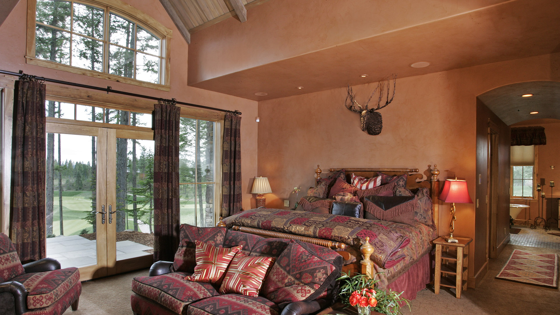 Coeur d'Alene Residence Bedroom