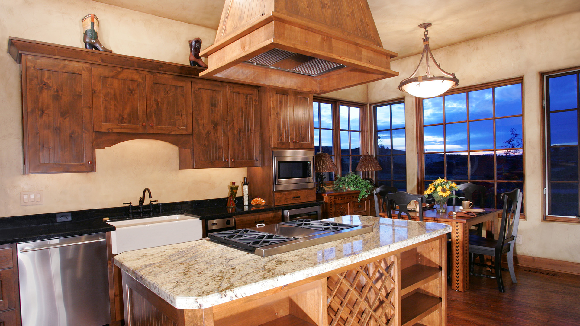 Coeur d'Alene Residence Kitchen