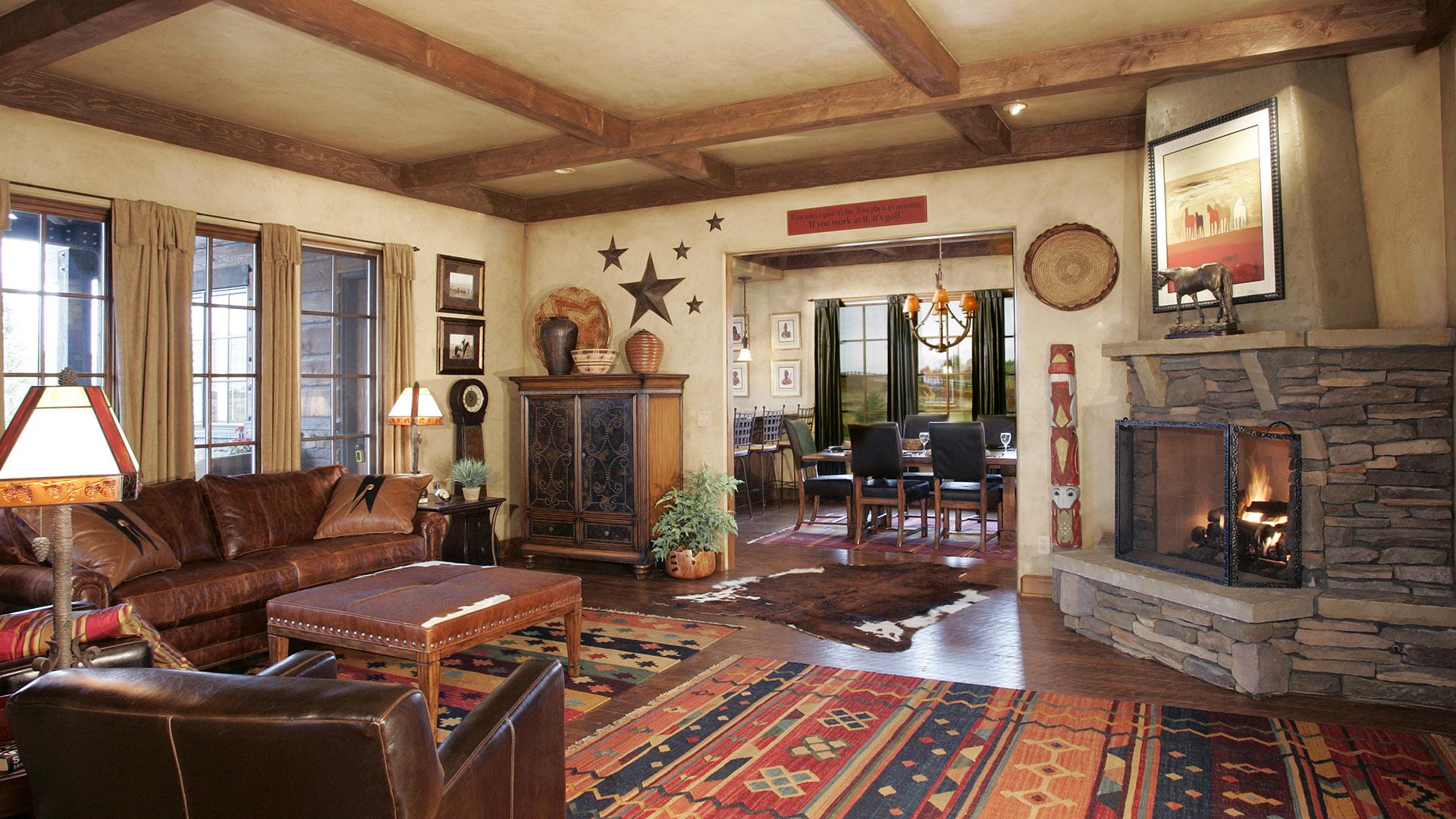 Coeur d'Alene Residence Family Room
