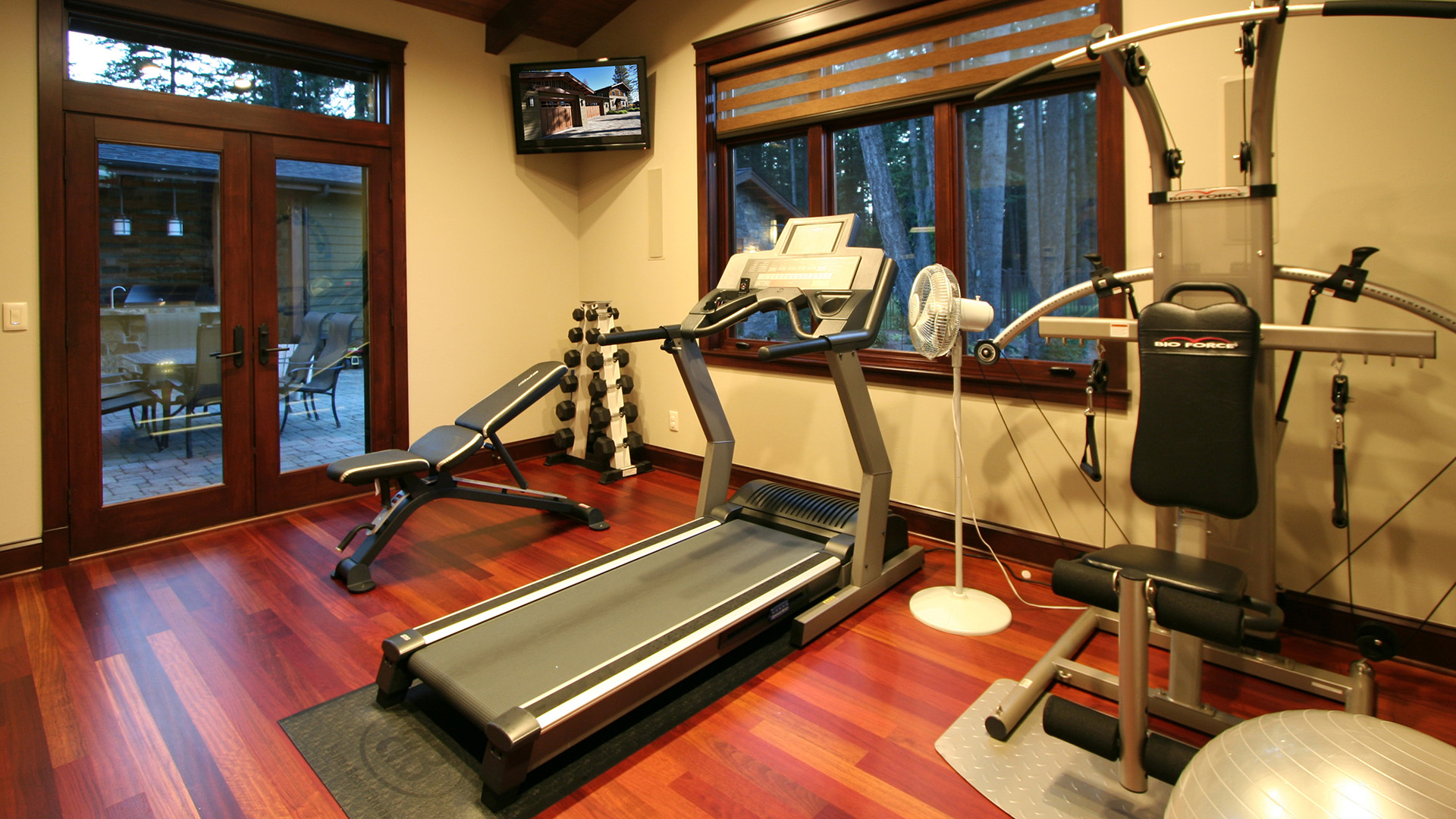 Coeur d'Alene Residence Workout Room