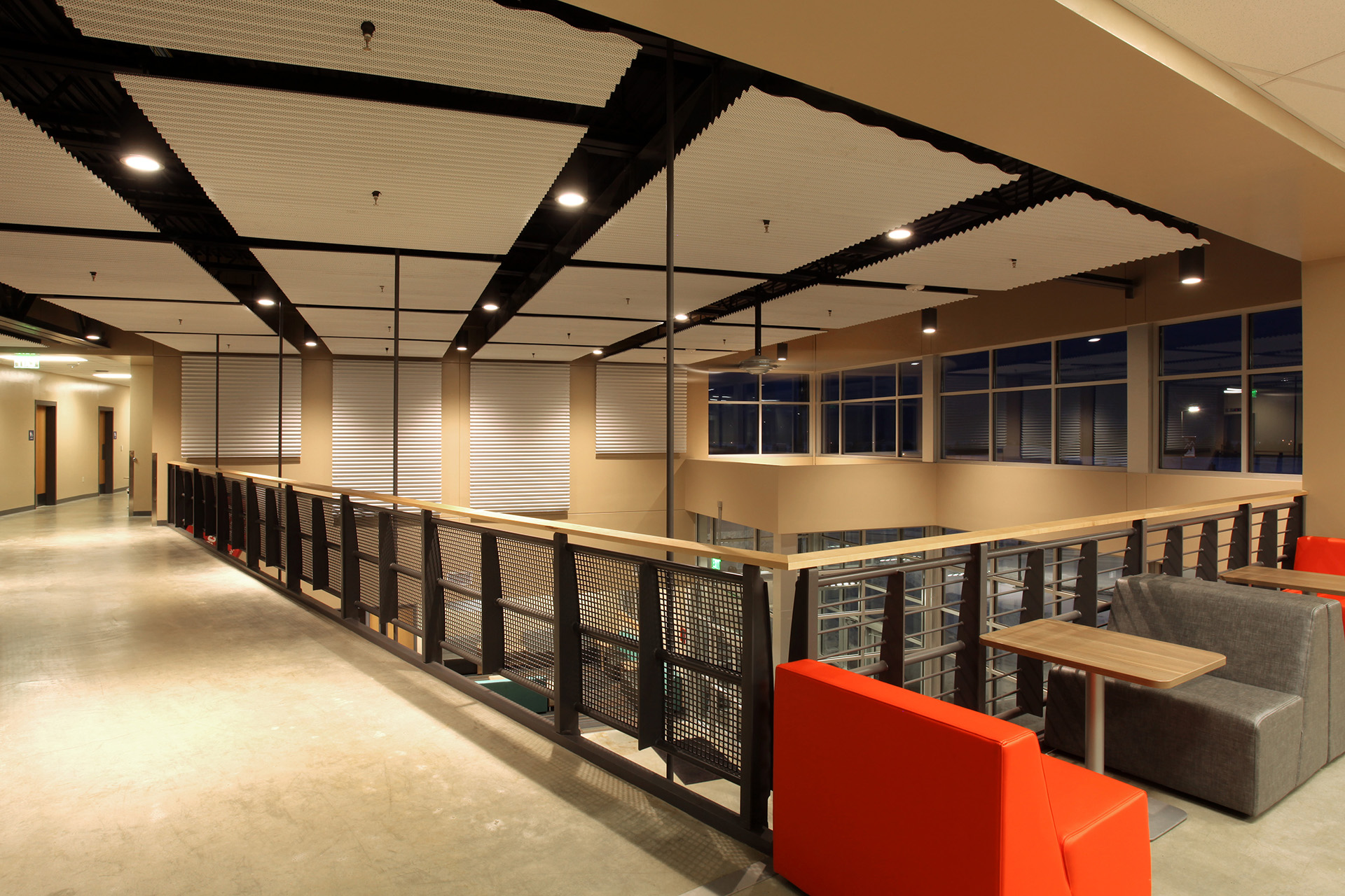 North Idaho College Parker Technical Education Center Seating
