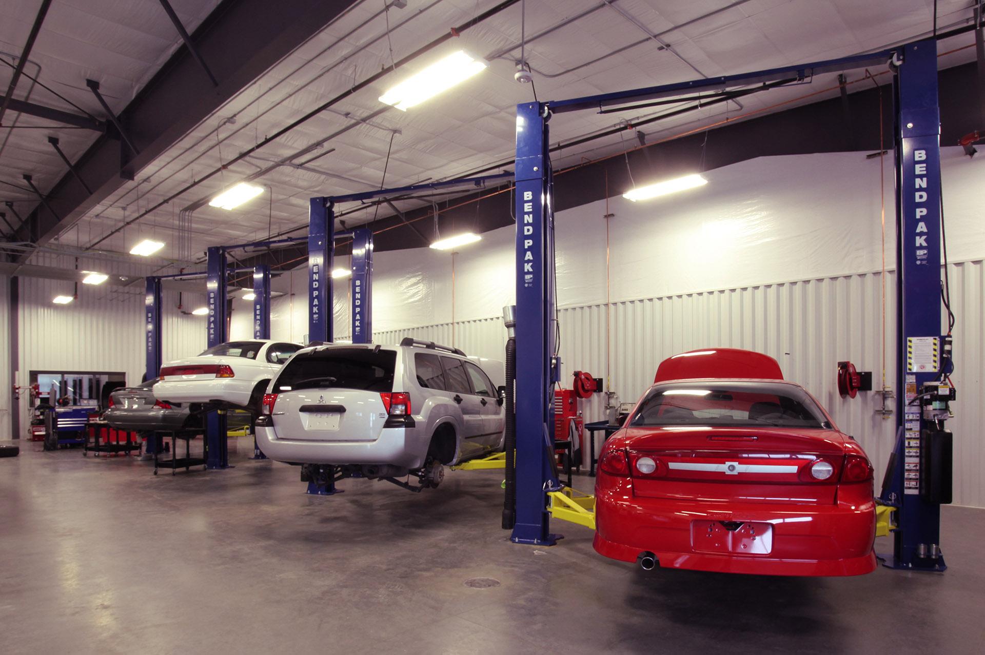 North Idaho College Parker Technical Education Center Automotive