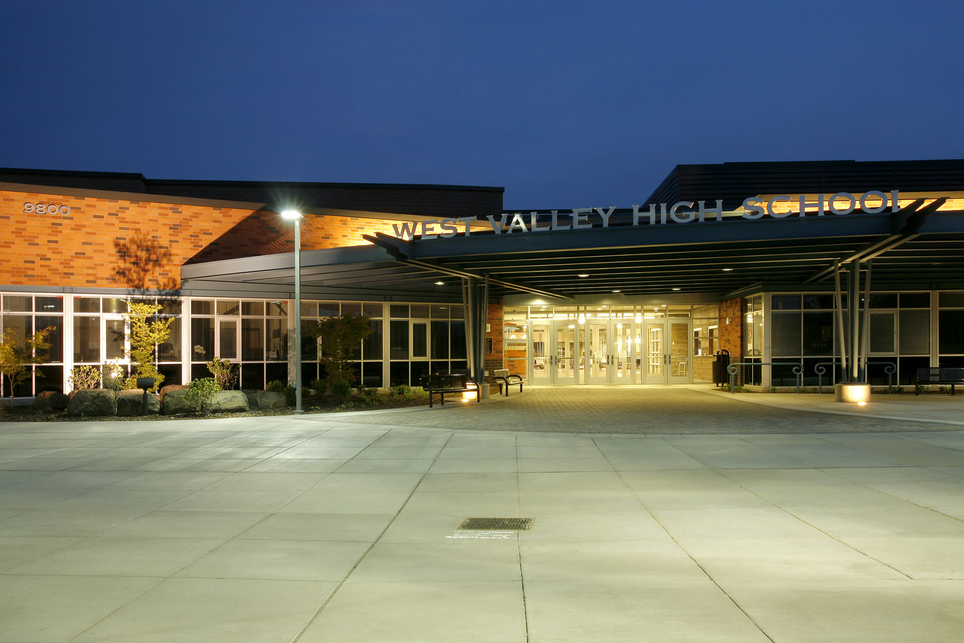 West Valley HS Entry