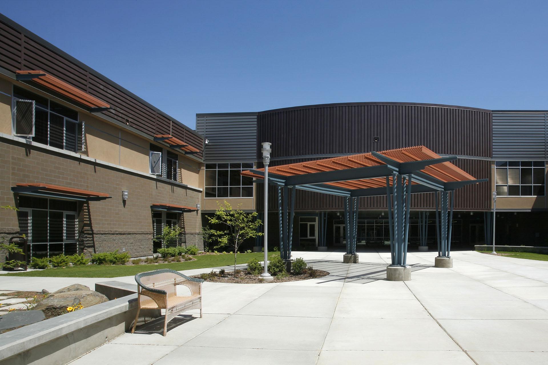 West Valley HS Courtyard