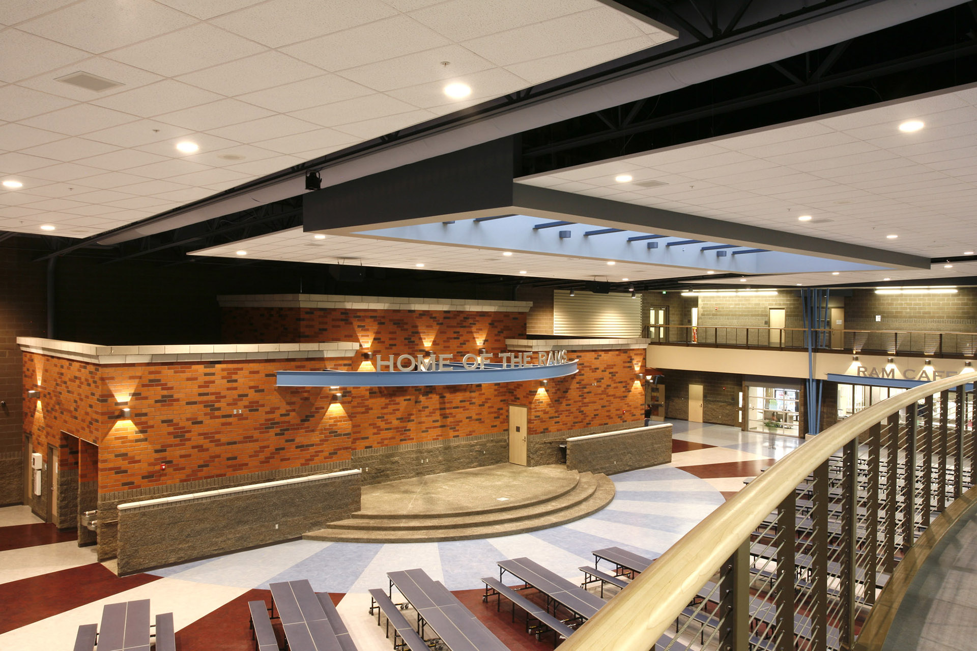 West Valley HS Commons
