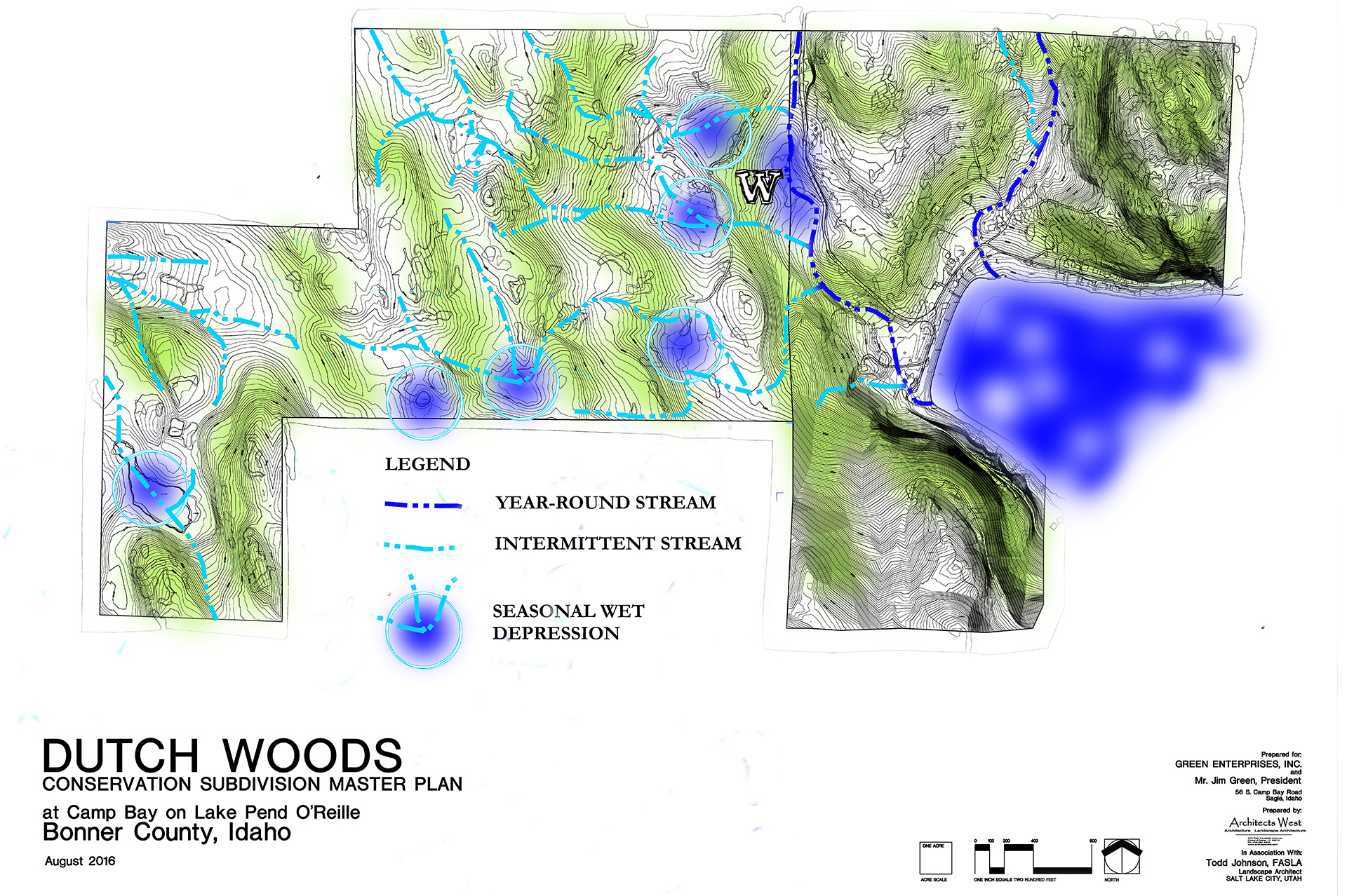 Dutch Woods Hydrology Map