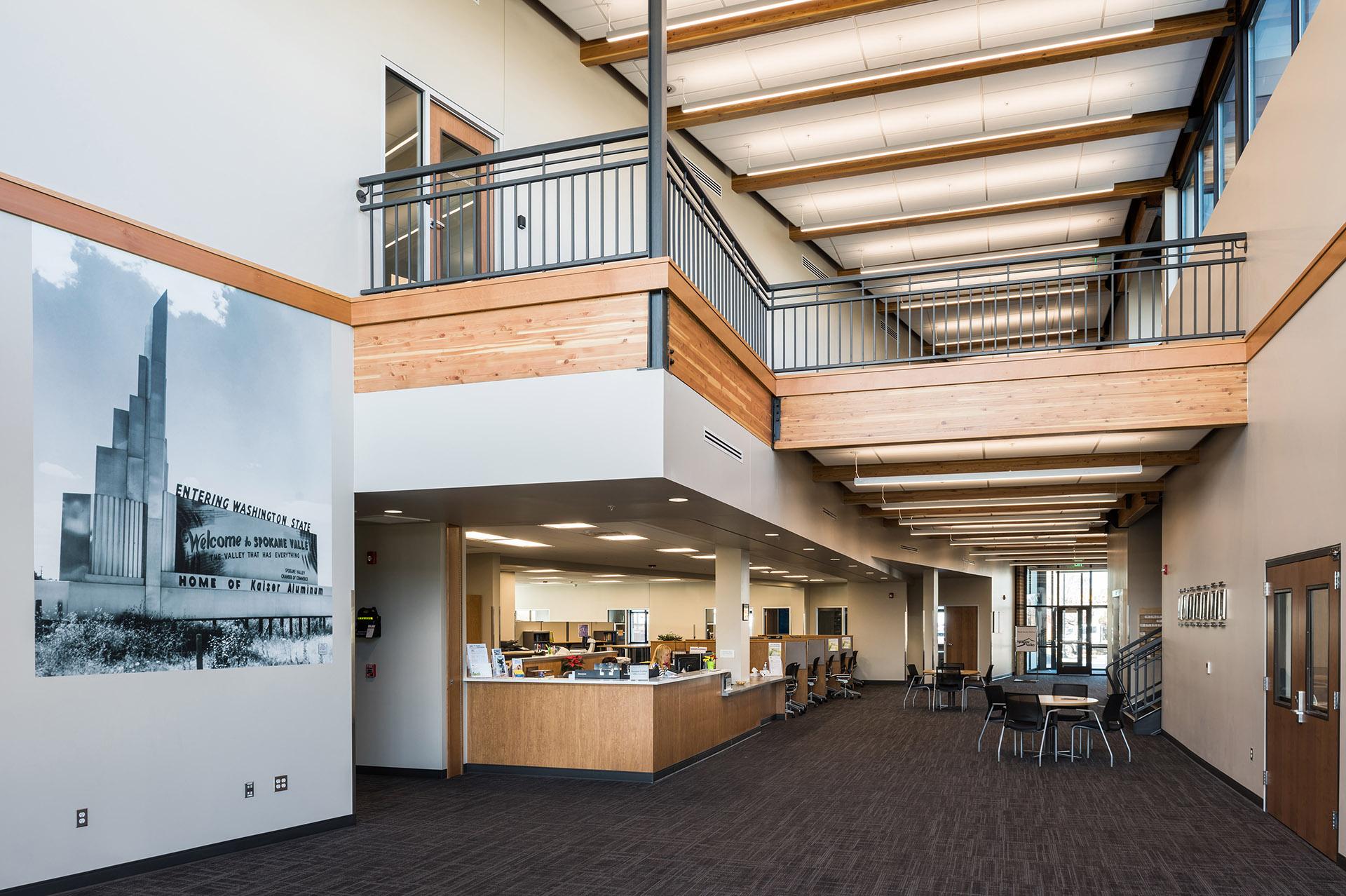 Spokane Valley City Hall Lobby