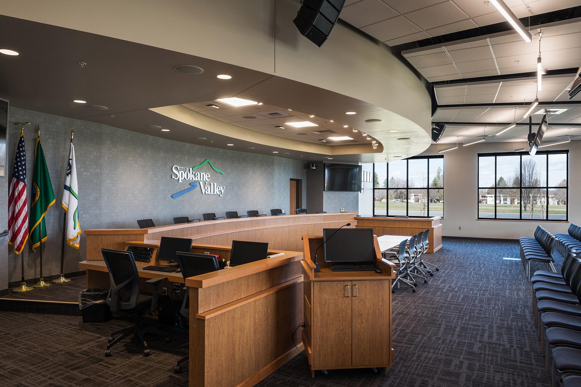 Spokane Valley City Hall City Council Chambers