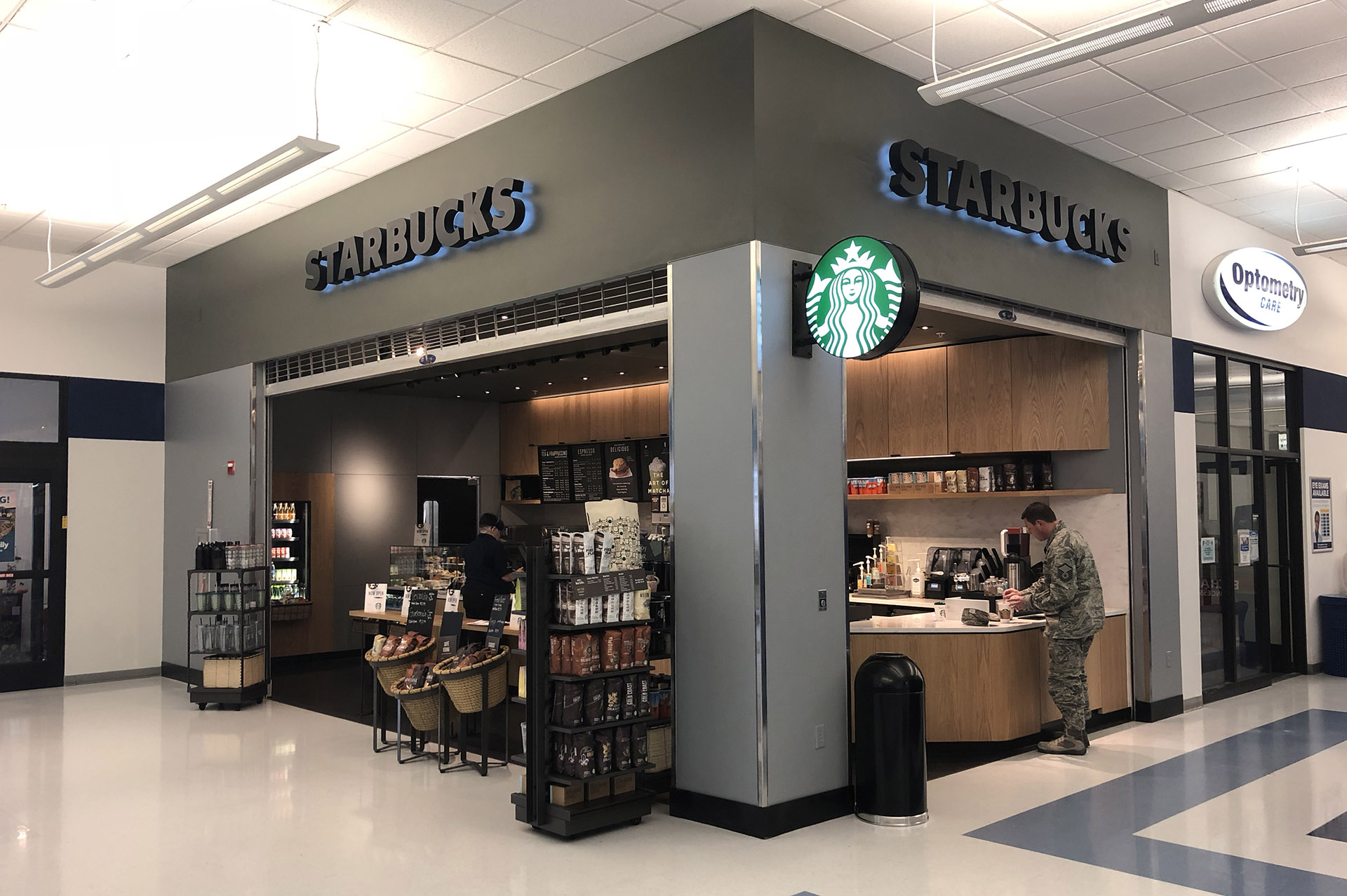 Hill AFB Starbucks