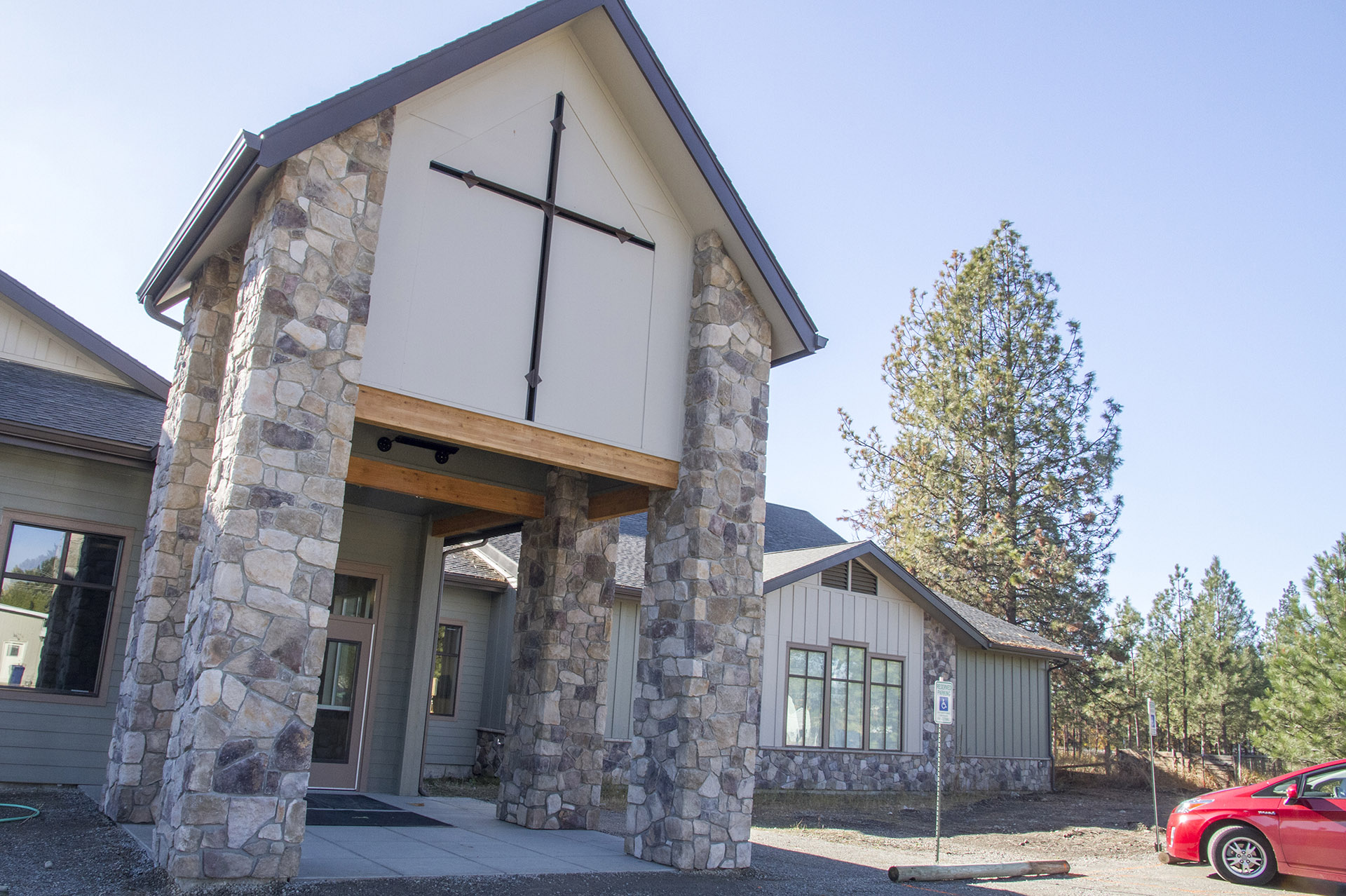 Hayden Bible Church Front Entry