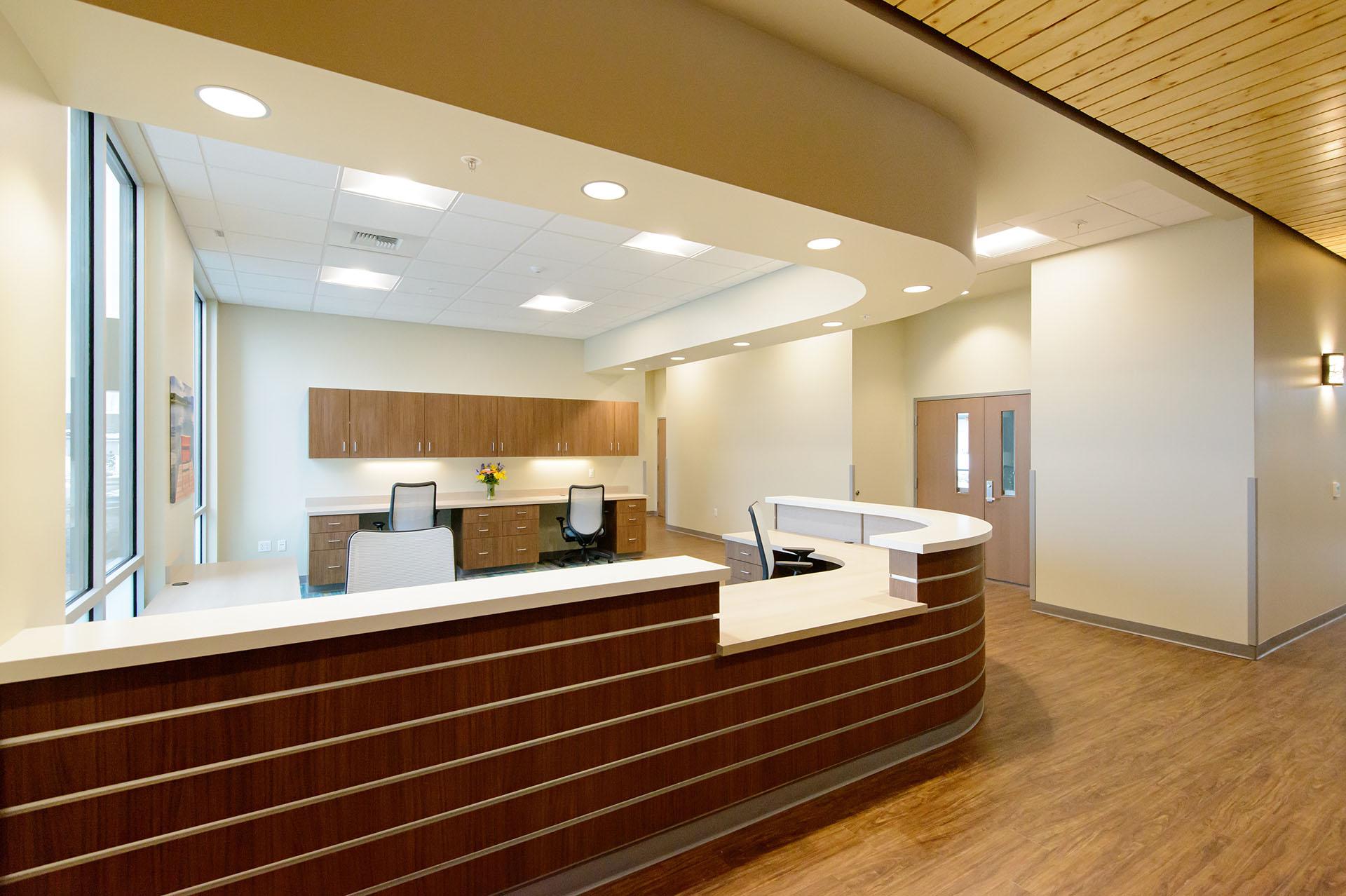 Hospice of North Idaho Lobby
