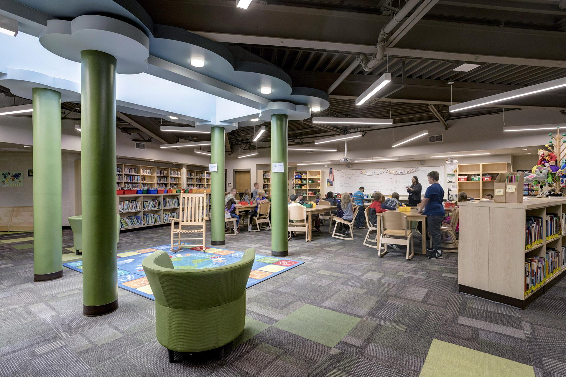 Greenacres Elementary Library