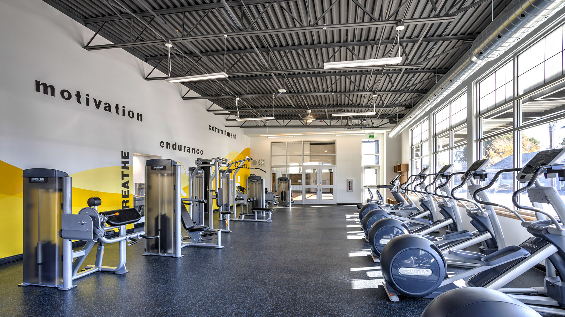 Echo K12 School Fitness Room