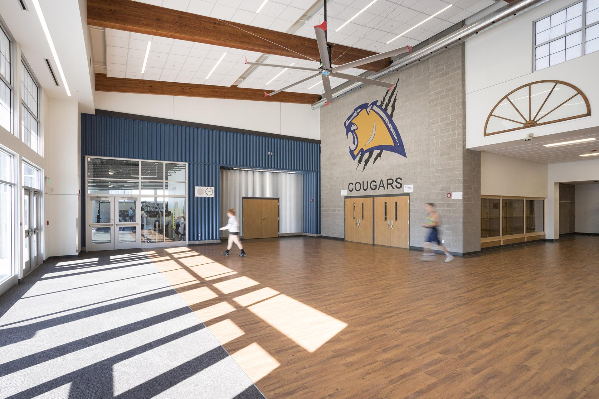 Echo K12 School Lobby