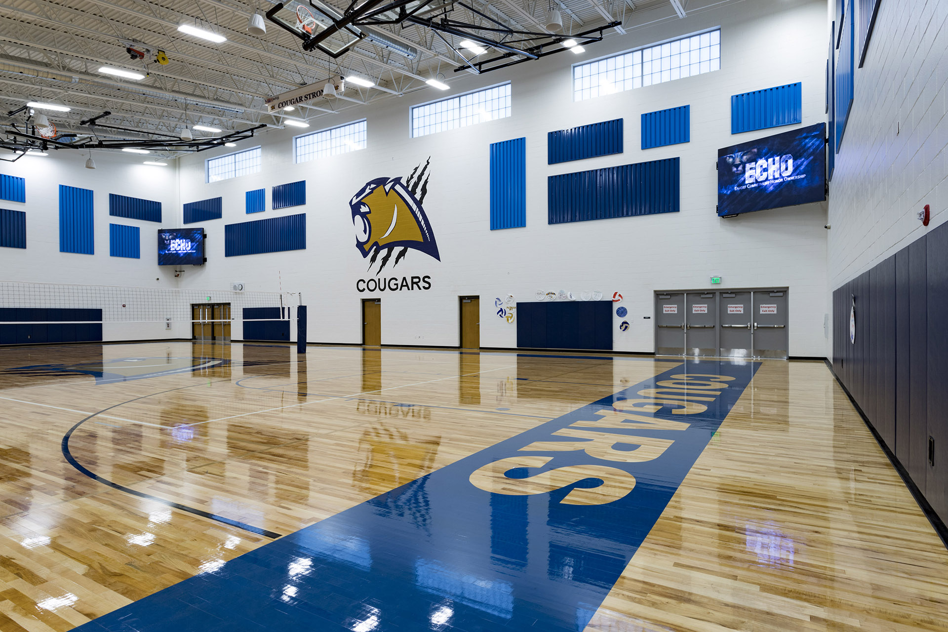 Echo K12 School Gym