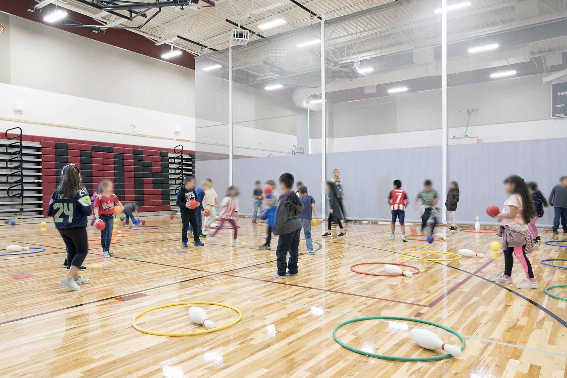 Gib Olinger Elementary School Gym