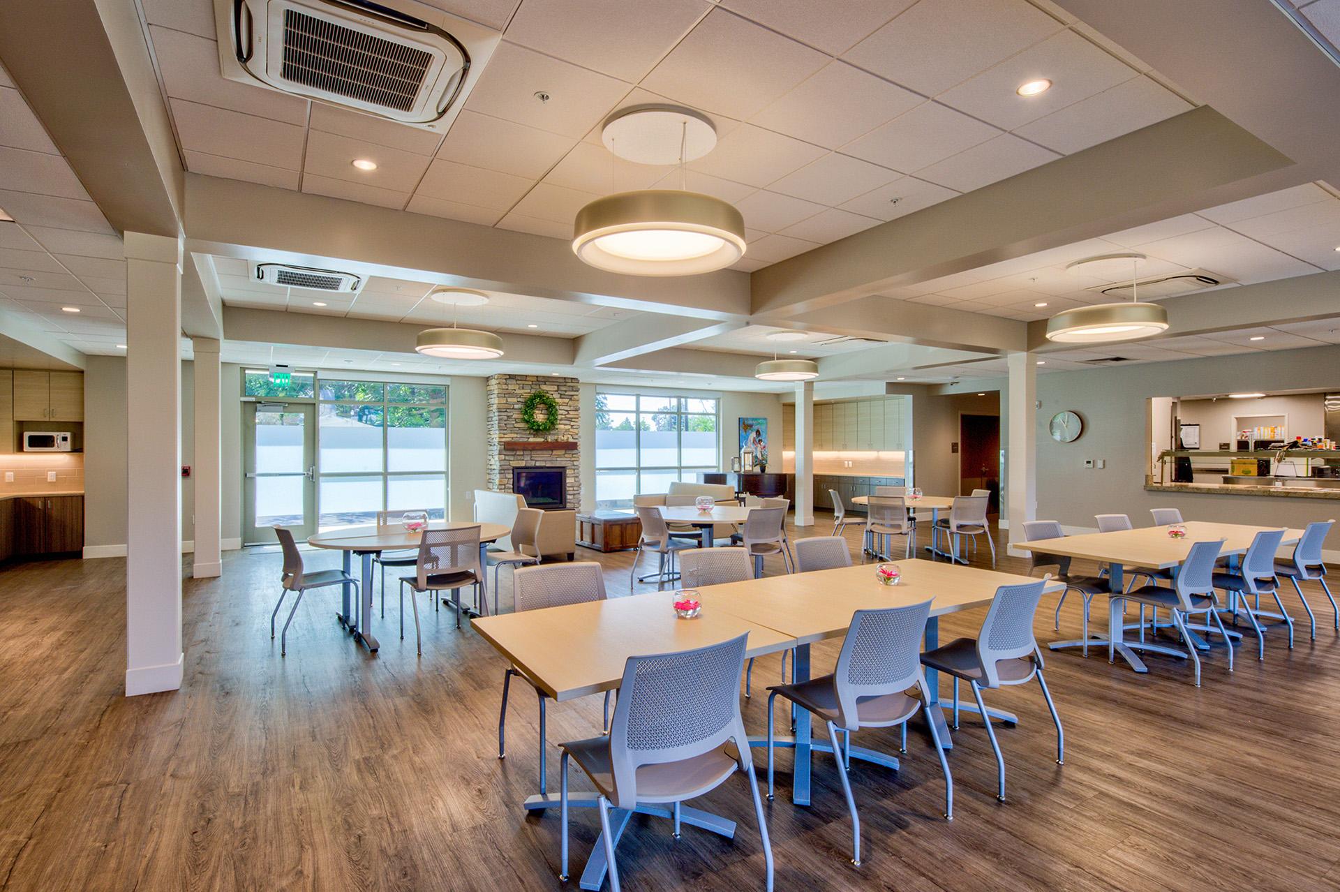 Walla Walla Christian Aid Center Eating Area