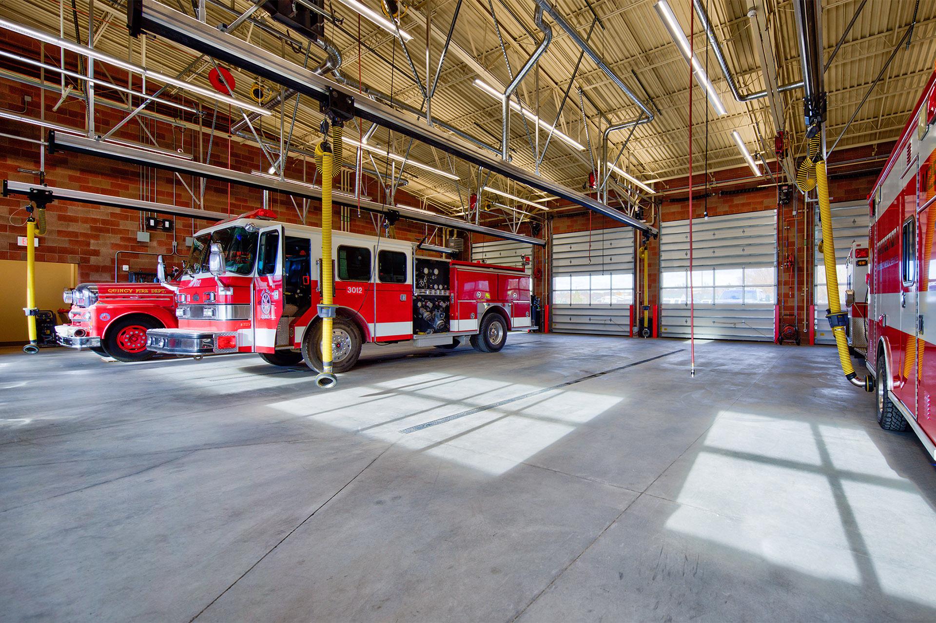 Quincy Public Safety Facility Apparatus Bay