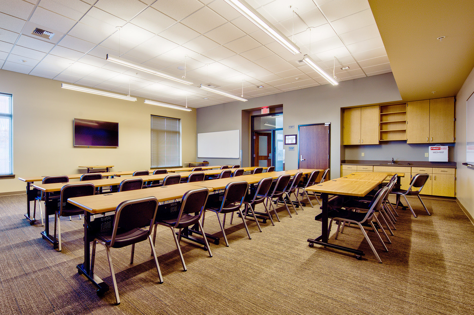 Quincy Public Safety Facility Conference Room