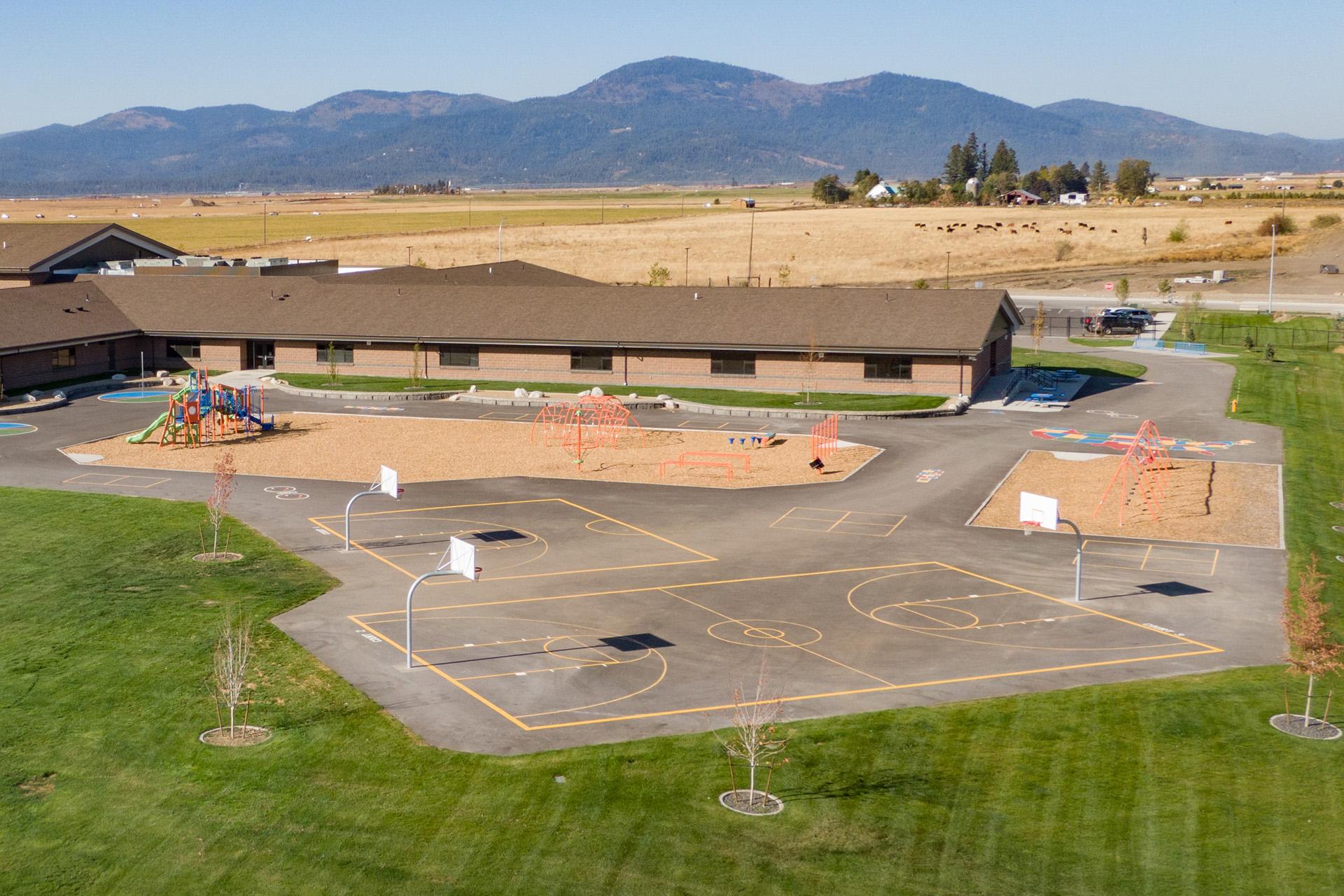 Treaty Rock Elementary Play Area