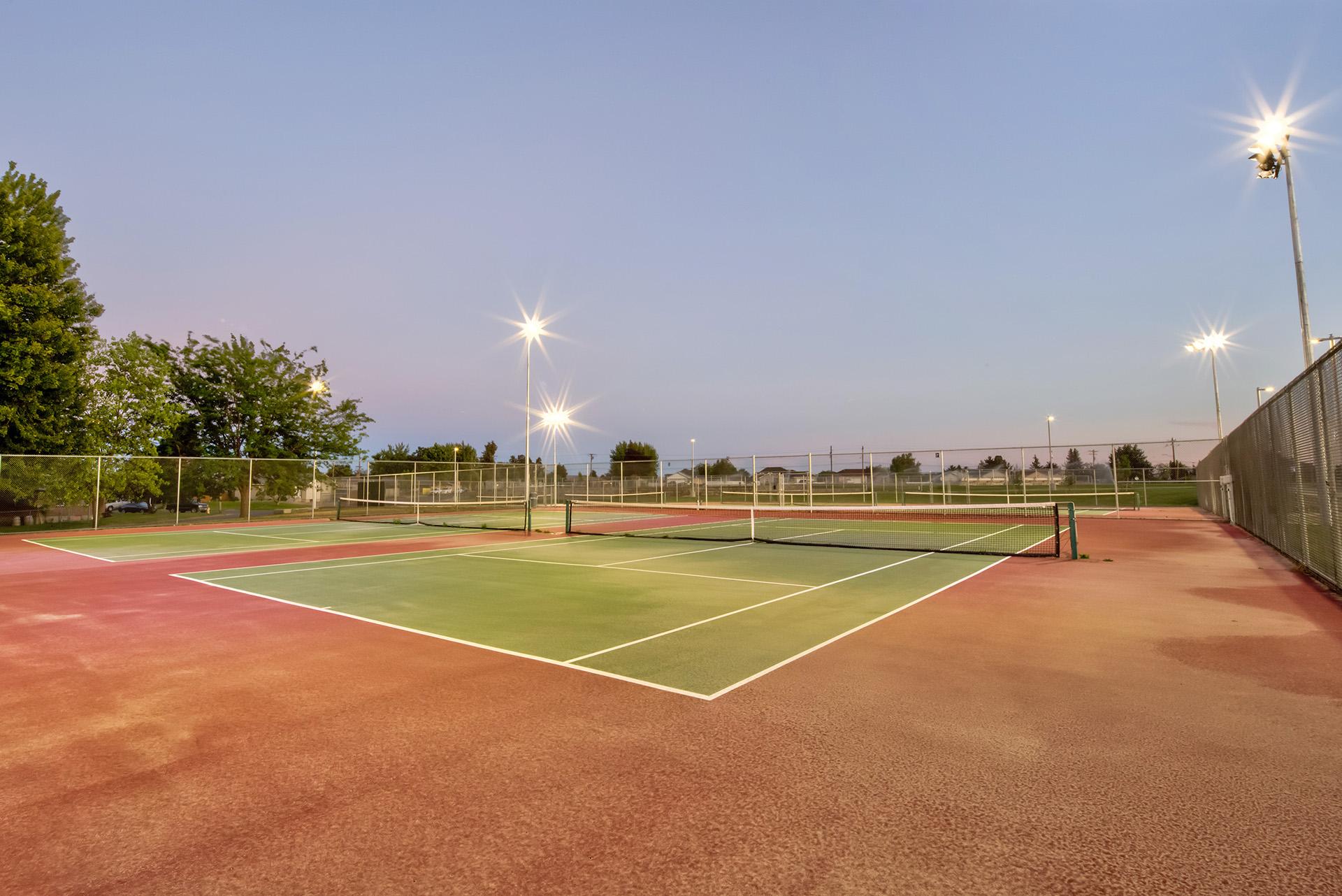 Grandview High School Tennis Courts